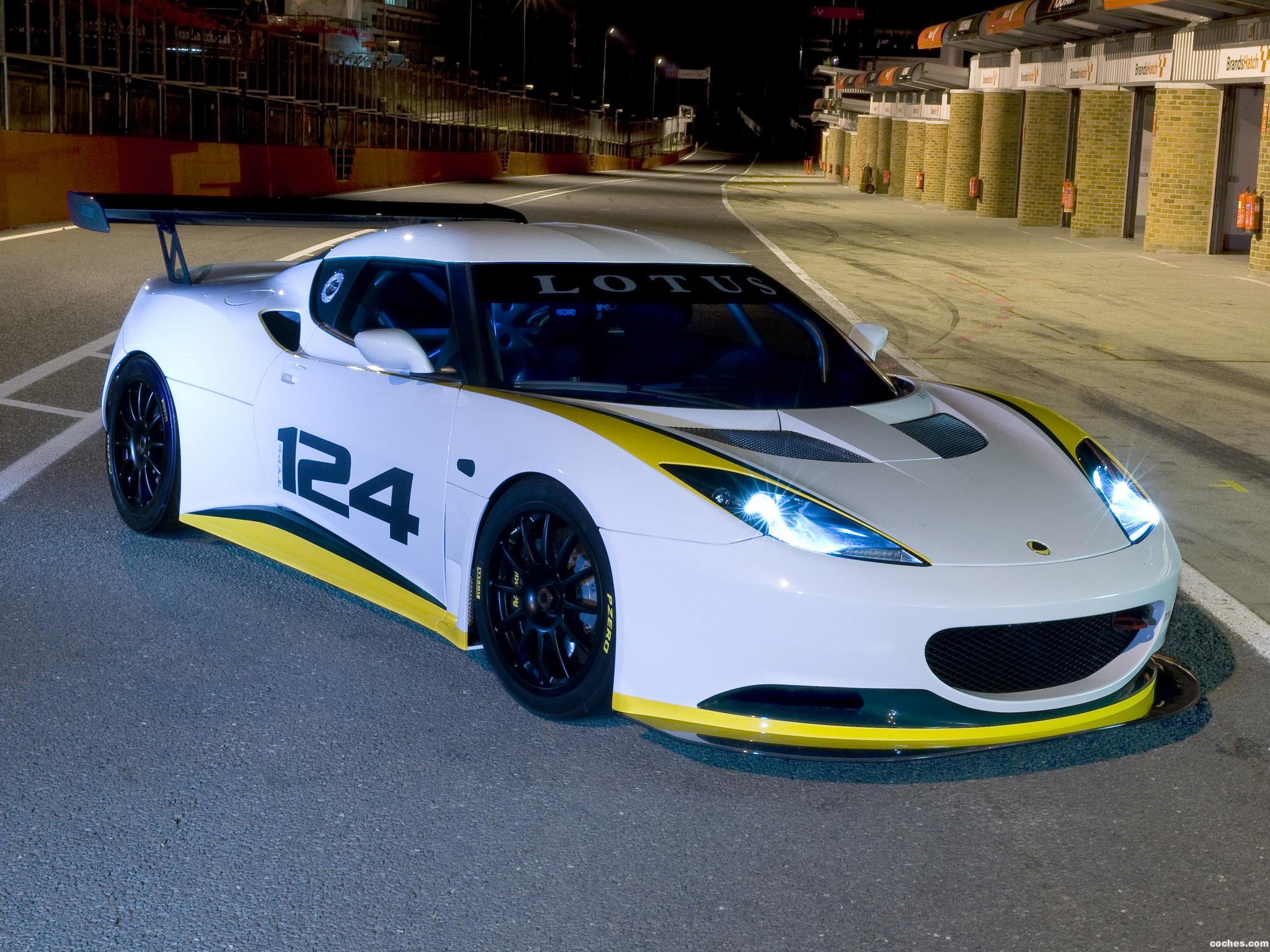 Foto 0 de Lotus Evora Type-124 Endurance Racecar 2009