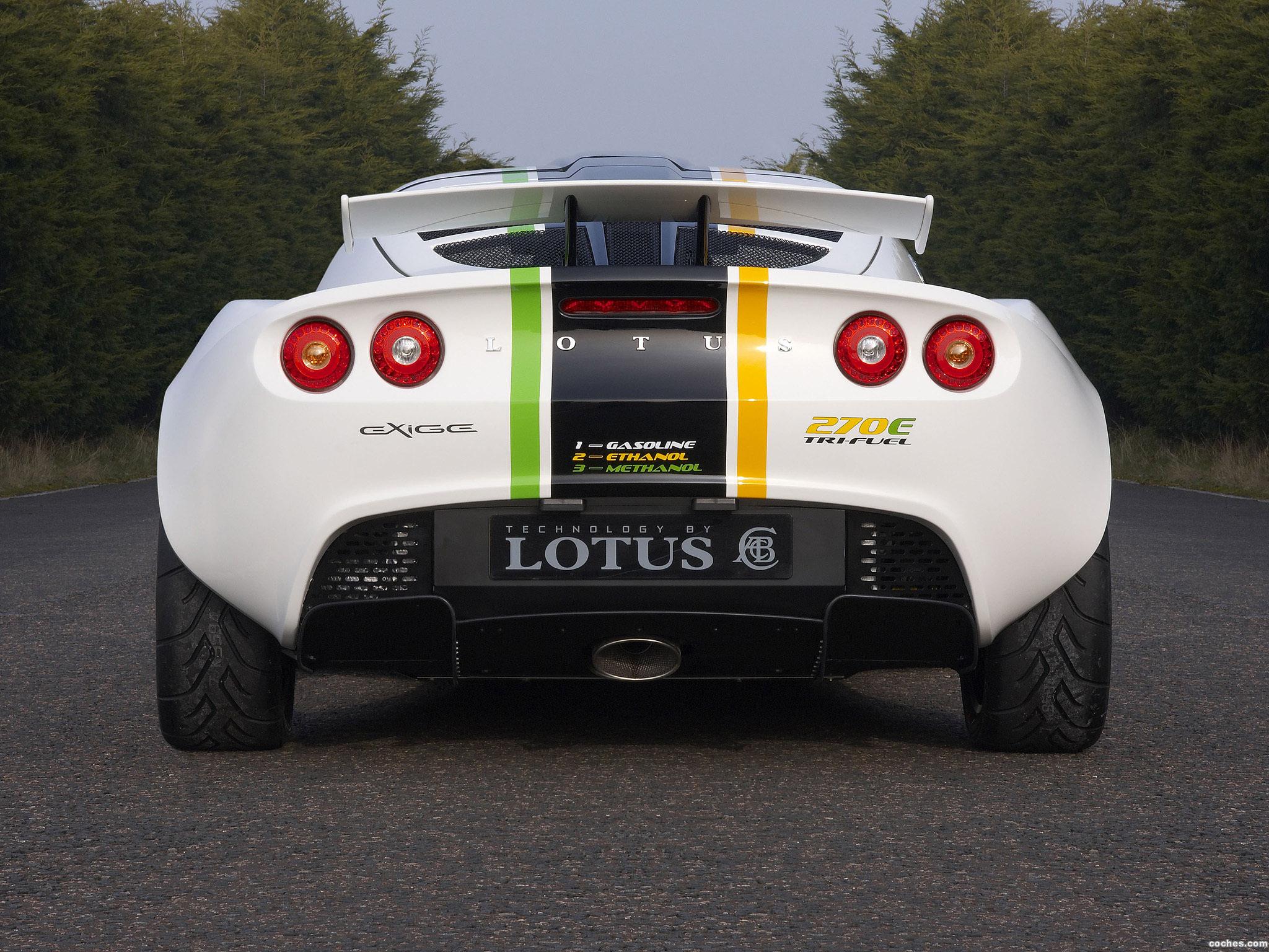 Foto 1 de Lotus Exige 270E TriFuel Concept 2008