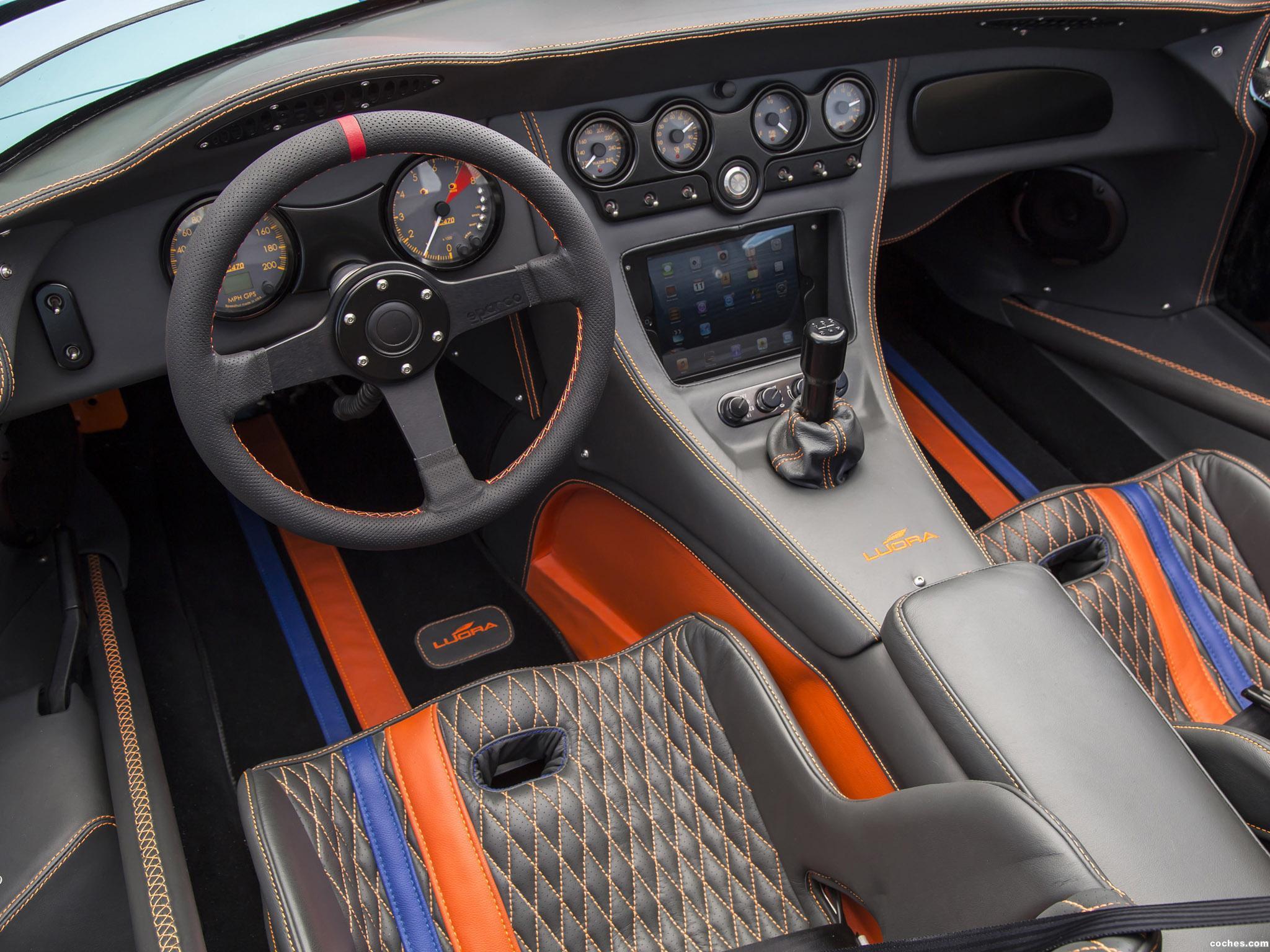Foto 22 de Lucra LC470 Gulf Racing Blue and Orange 2013