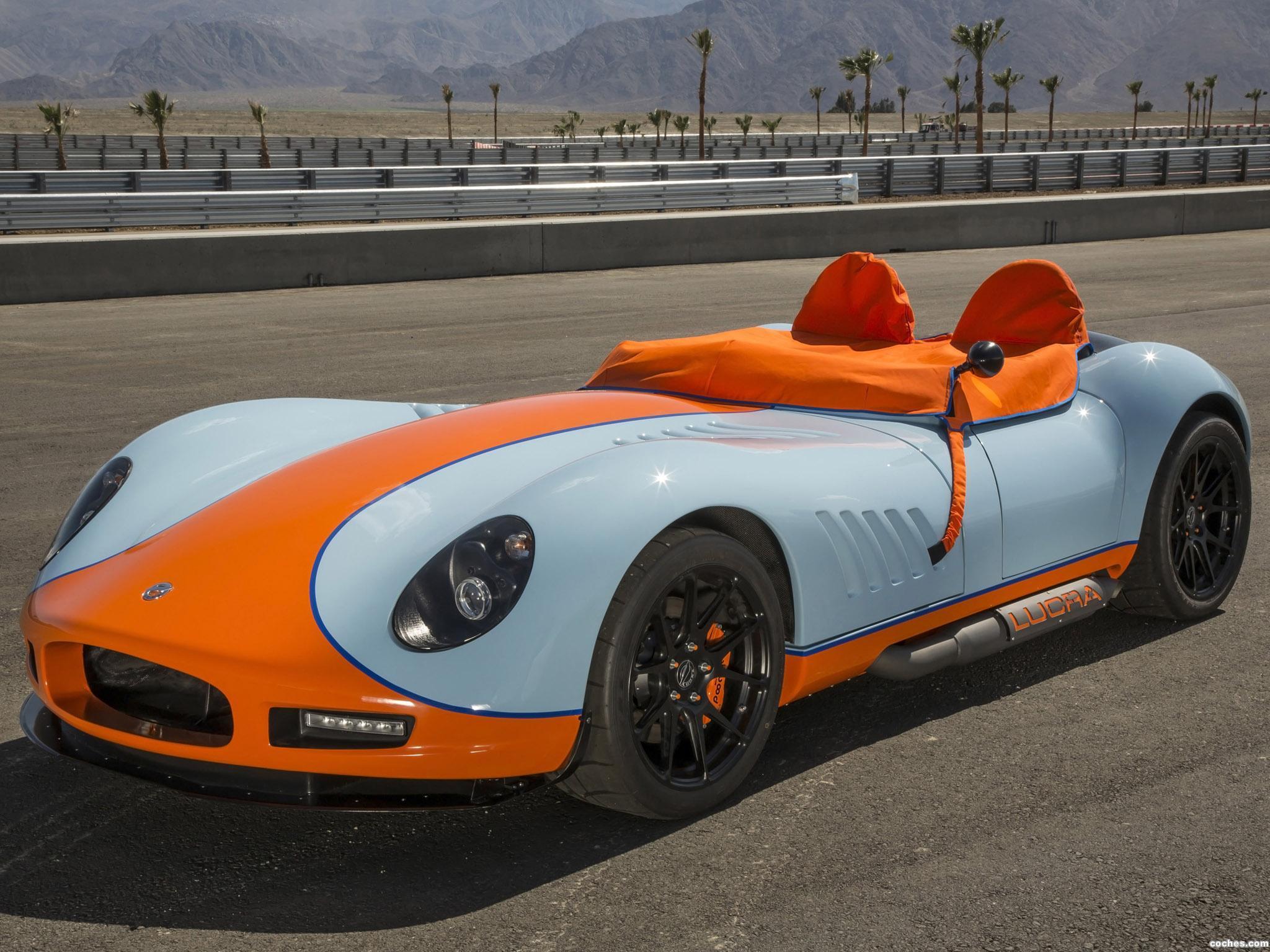 Foto 5 de Lucra LC470 Gulf Racing Blue and Orange 2013