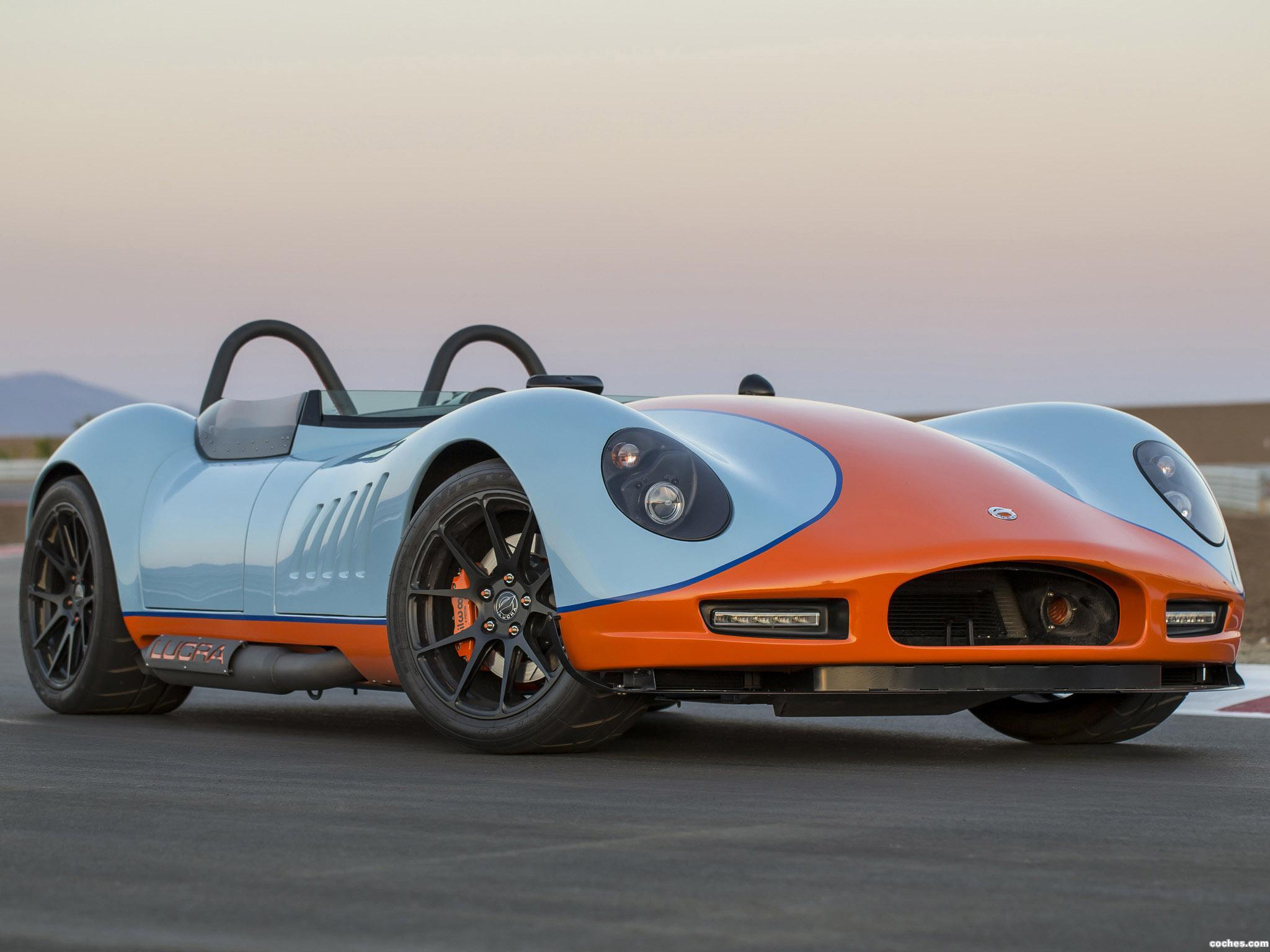 Foto 0 de Lucra LC470 Gulf Racing Blue and Orange 2013