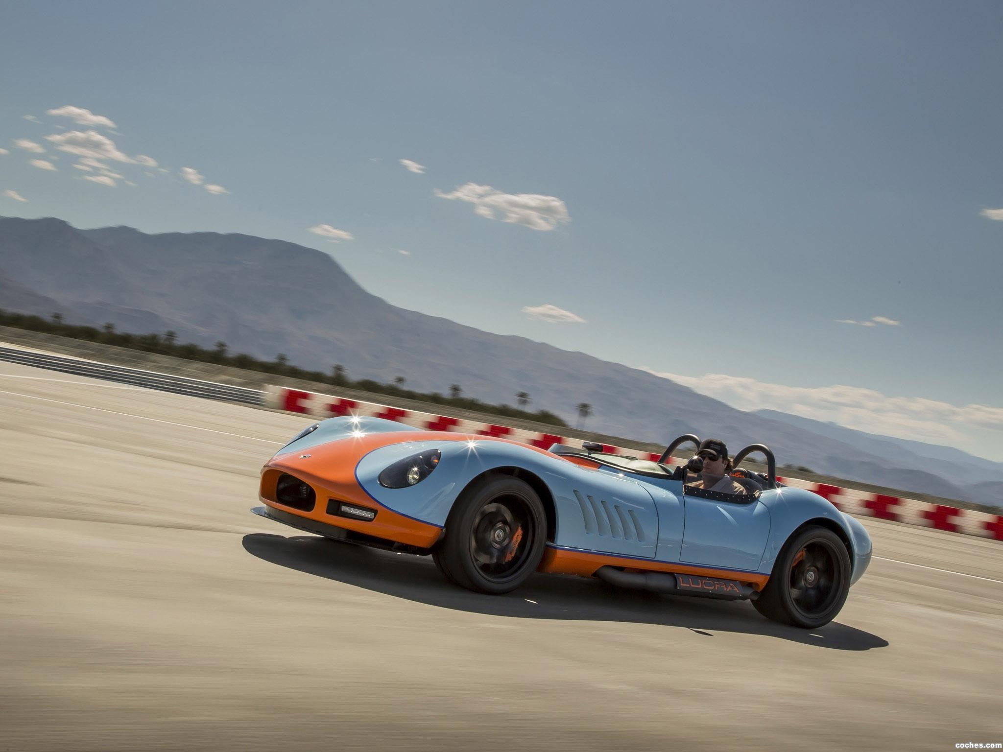 Foto 17 de Lucra LC470 Gulf Racing Blue and Orange 2013