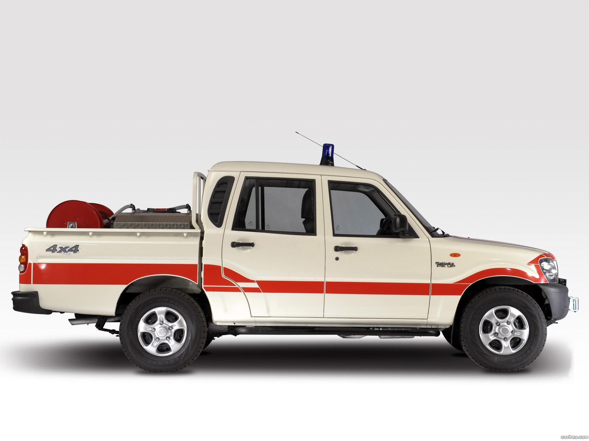 Foto 2 de Mahindra Pik Up Double Cab 2009