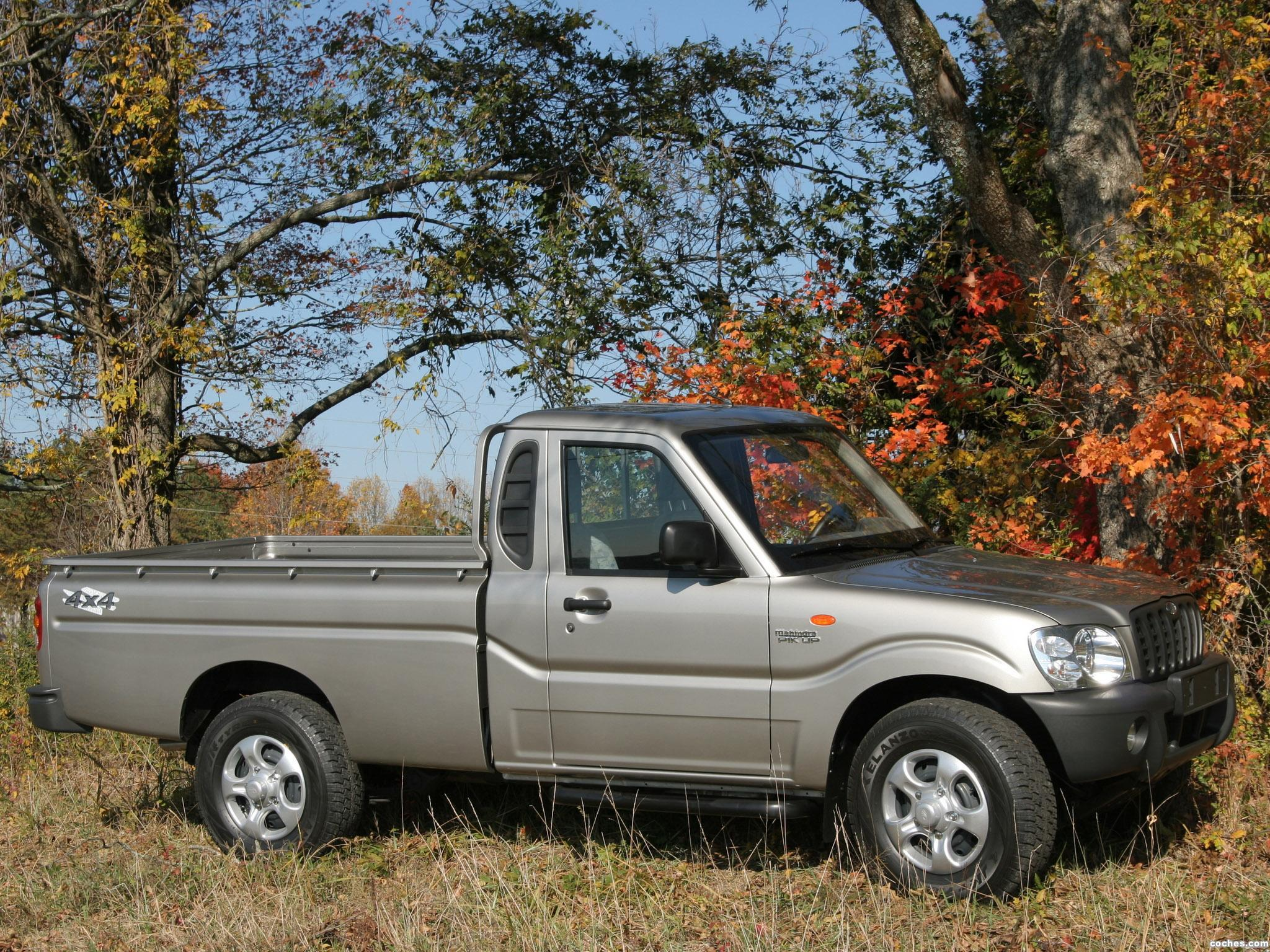Foto 8 de Mahindra Pik Up Single Cab 2007
