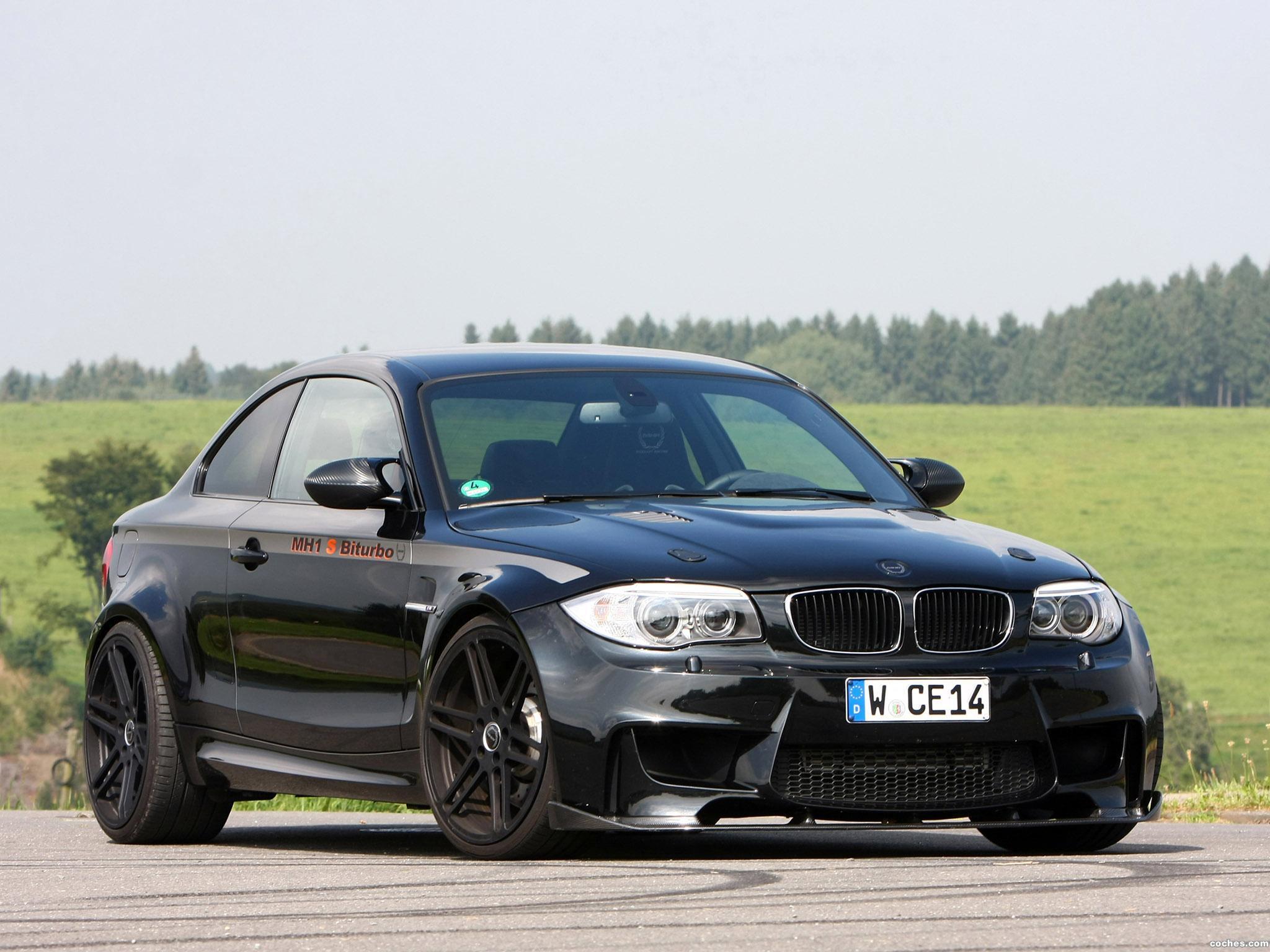 Foto 0 de Manhart BMW Serie 1 MH1 S Biturbo E82 2012