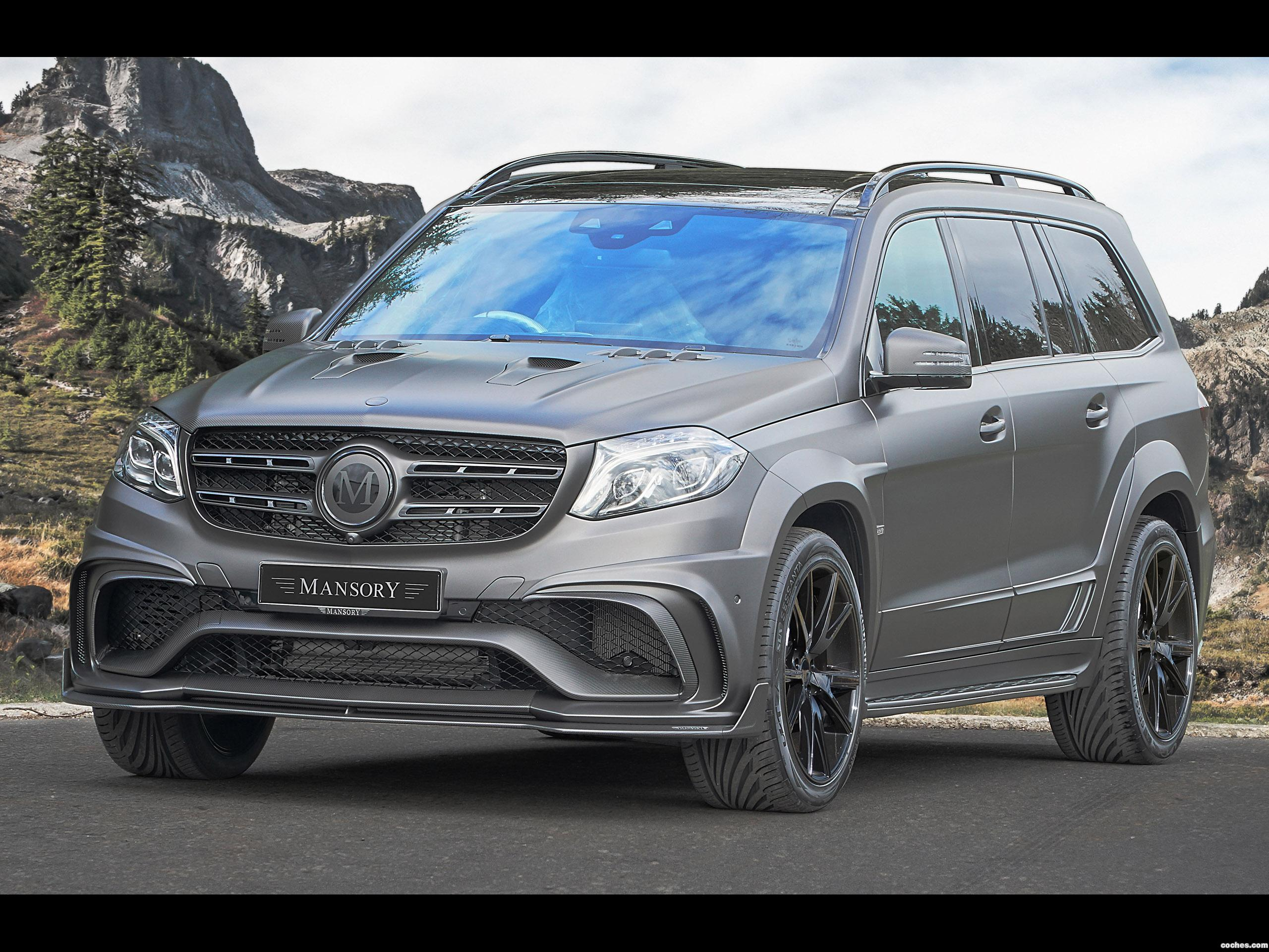 Foto 0 de Mercedes AMG GLS 63 4Matic UK Mansory (X166) 2017