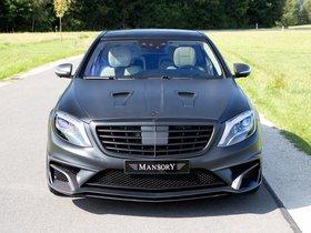 Ver foto 3 de Mansory Mercedes AMG S63 Black Edition W222 2015