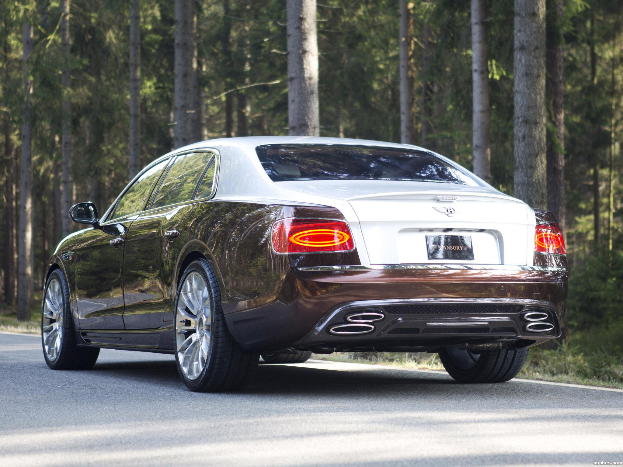 Foto 2 de Mansory Bentley Continental Flying Spur 2014