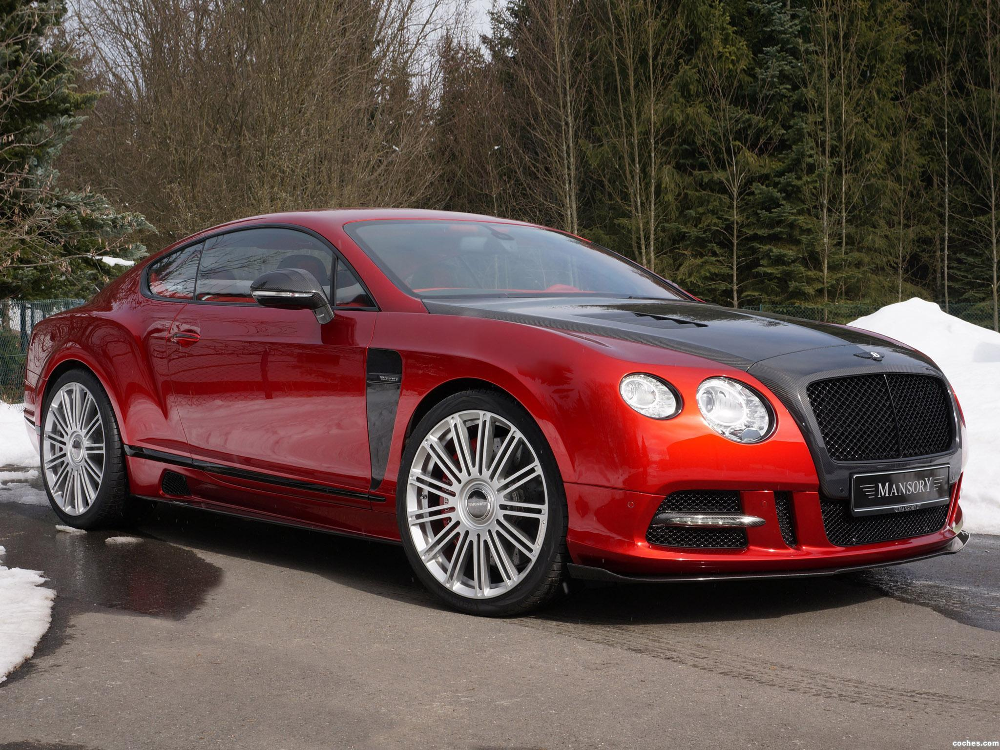 Foto 0 de Mansory Bentley Continental GT Sanguis 2013