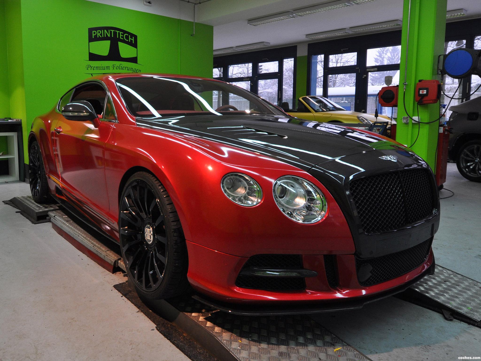 Foto 0 de Mansory Bentley Continental GT by Print Tech 2013