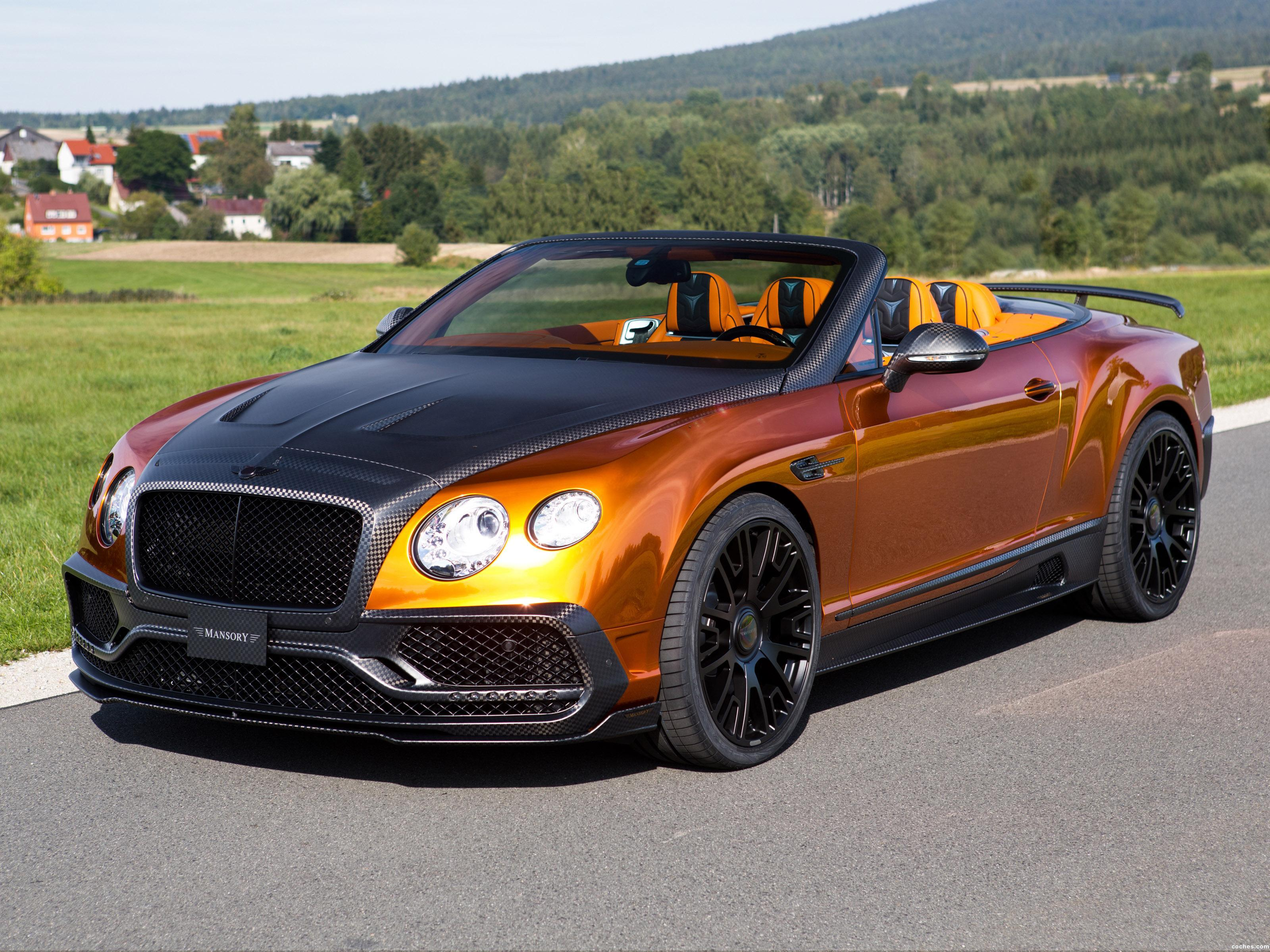 Foto 0 de Mansory Bentley Continental GTC 2015
