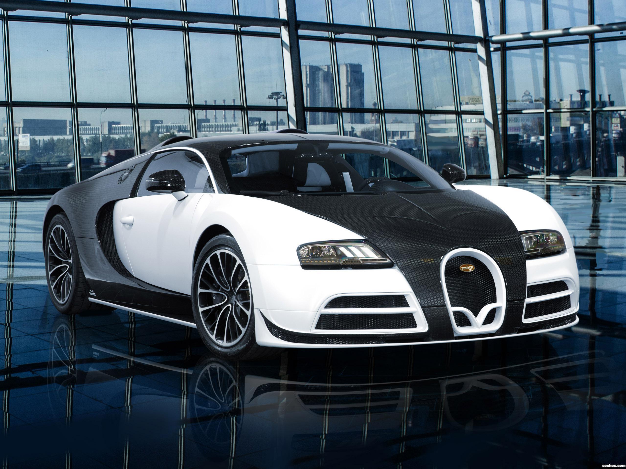 Foto 0 de Mansory Bugatti Veyron Vivere 2014