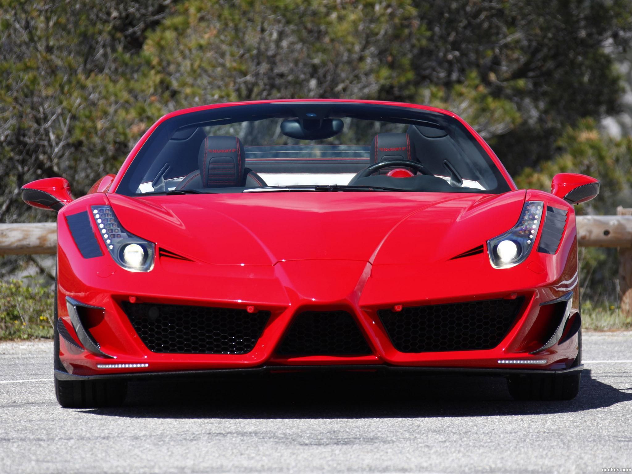 Foto 5 de Mansory Ferrari 458 Spider Monaco Edition 2012