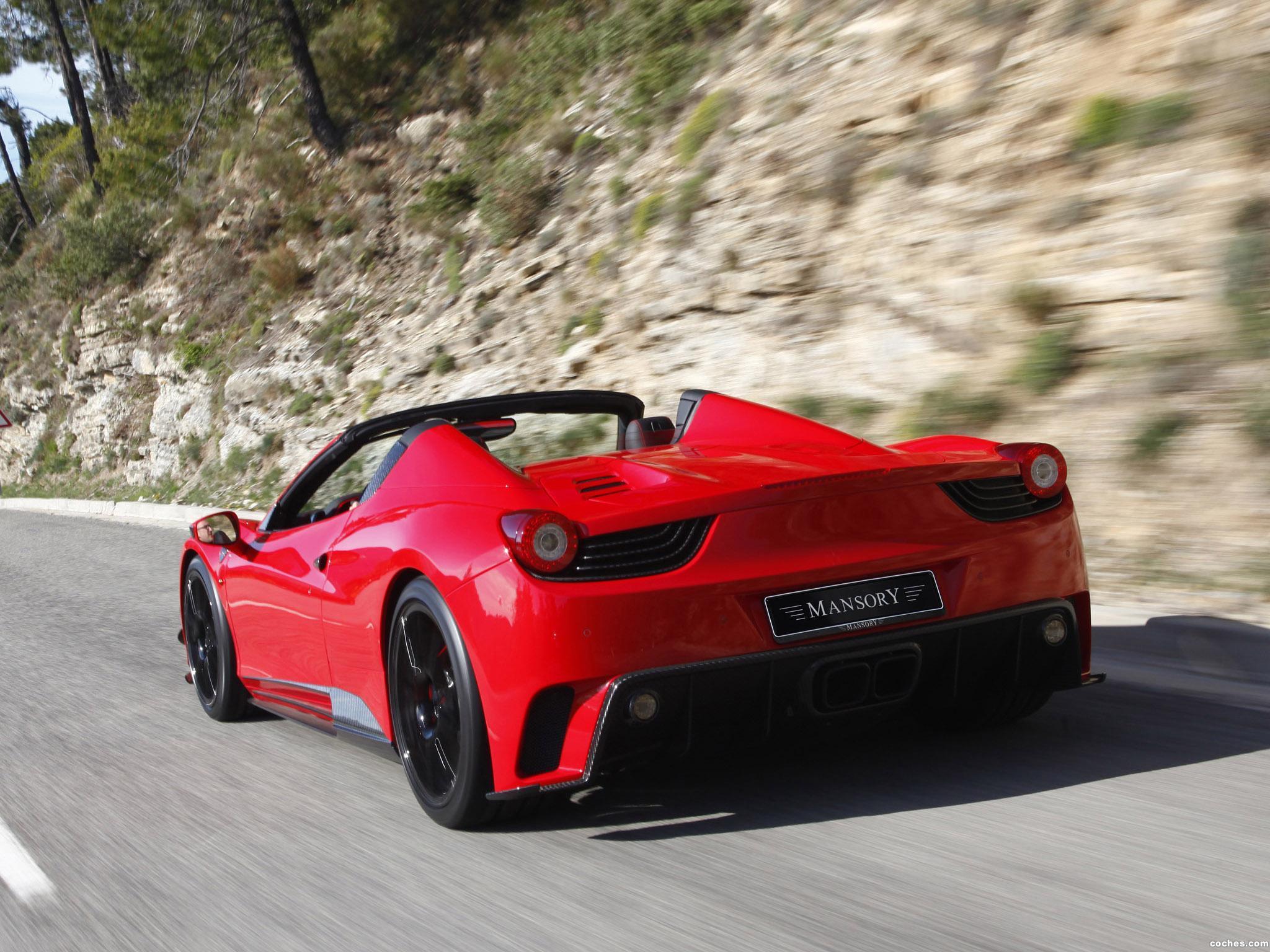 Foto 1 de Mansory Ferrari 458 Spider Monaco Edition 2012