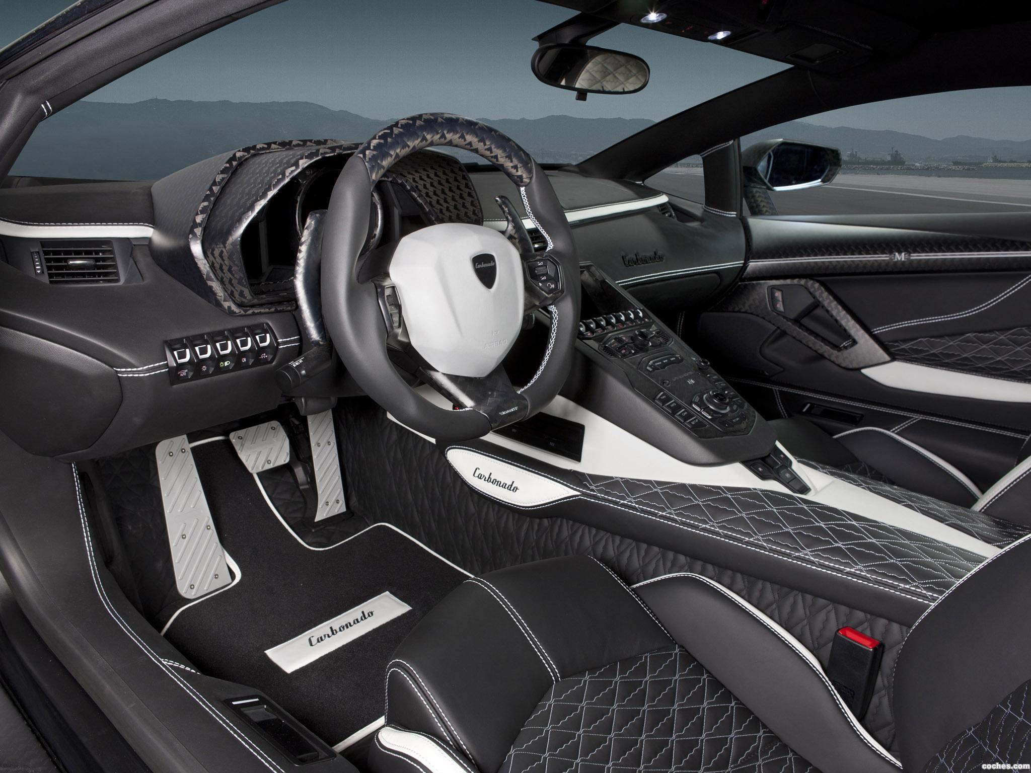Foto 3 de Mansory Lamborghini Aventador LP700-4 Carbonado 2013
