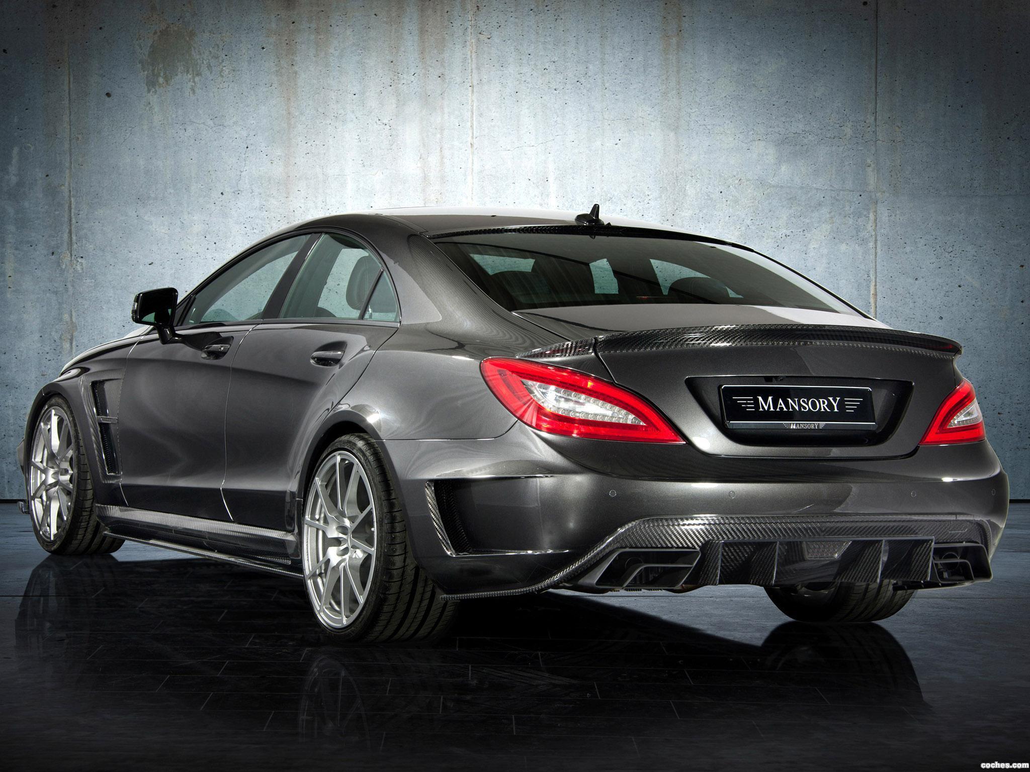 Foto 1 de Mansory Mercedes Clase CLS63 AMG 2012
