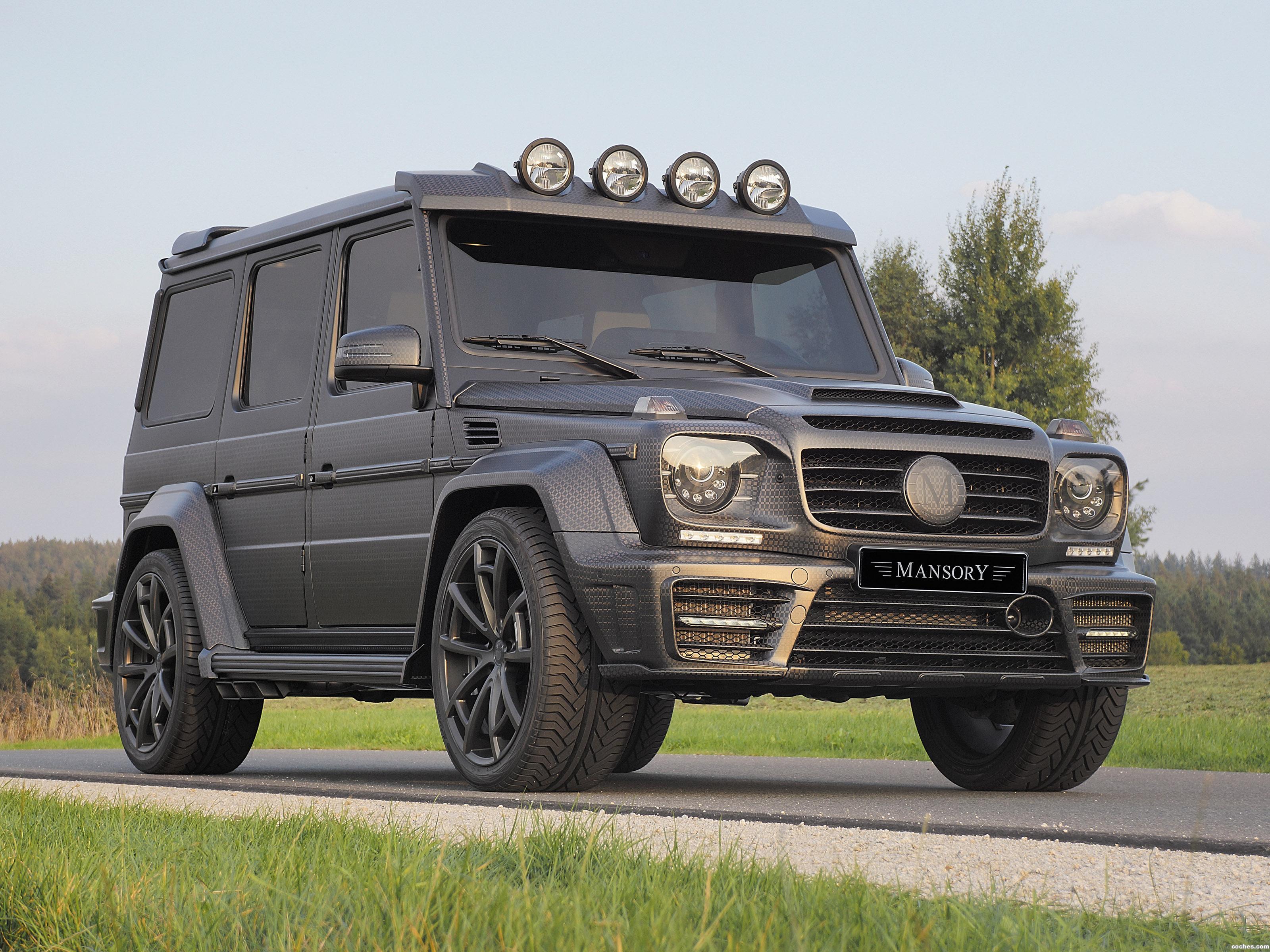 Foto 0 de Mansory Mercedes G Gronos Black Edition W463 2015