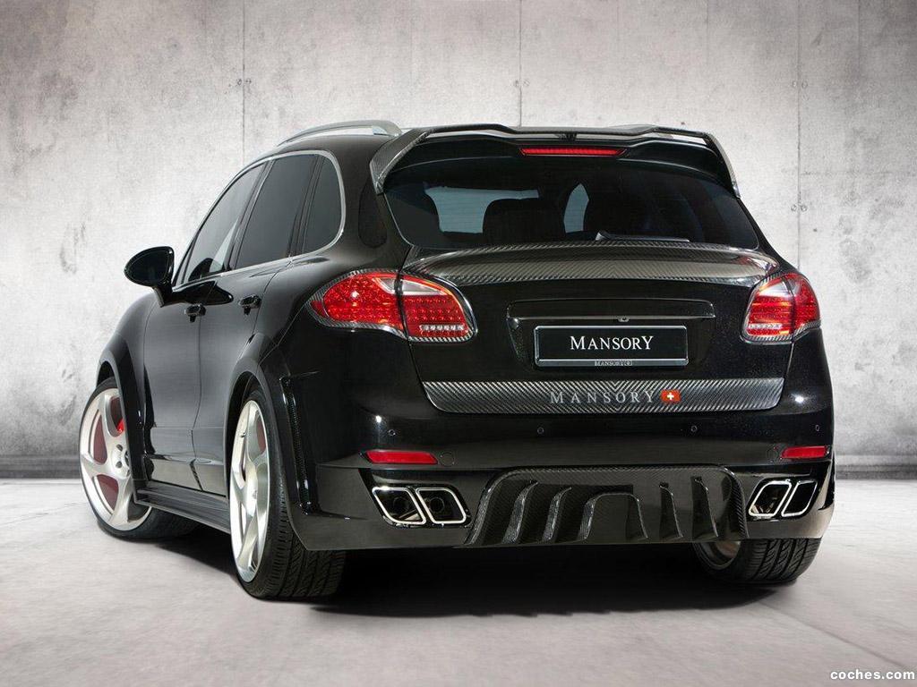 Foto 2 de Porsche mansory Cayenne 2011