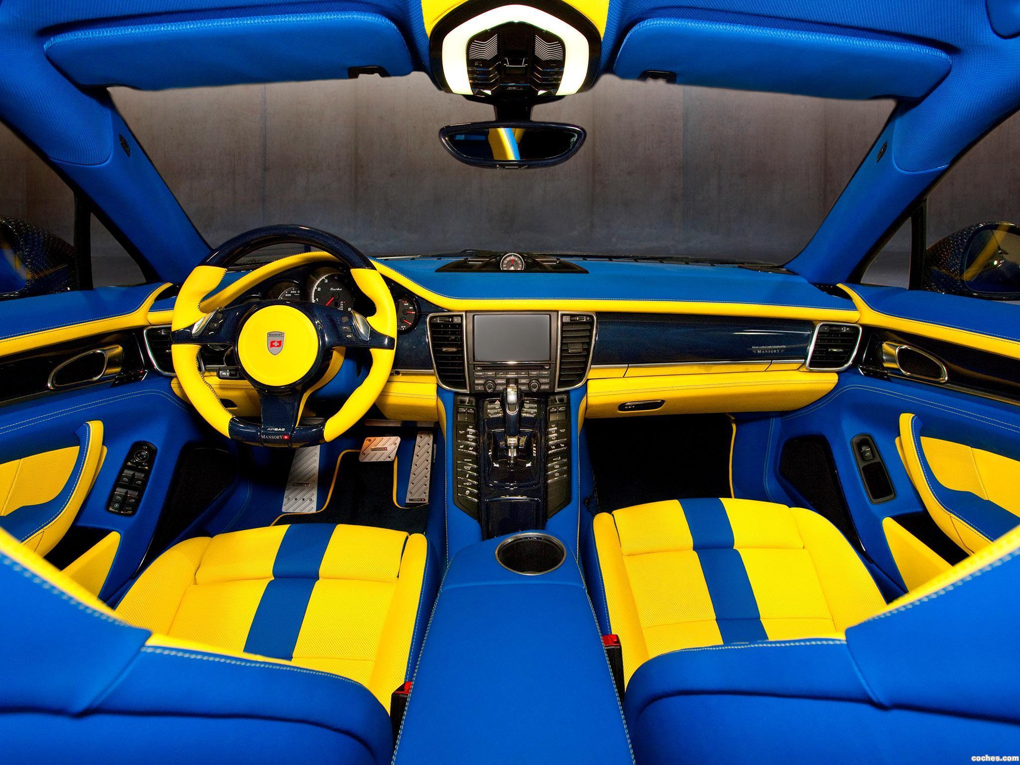 Foto 9 de Porsche mansory Panamera Turbo 2010