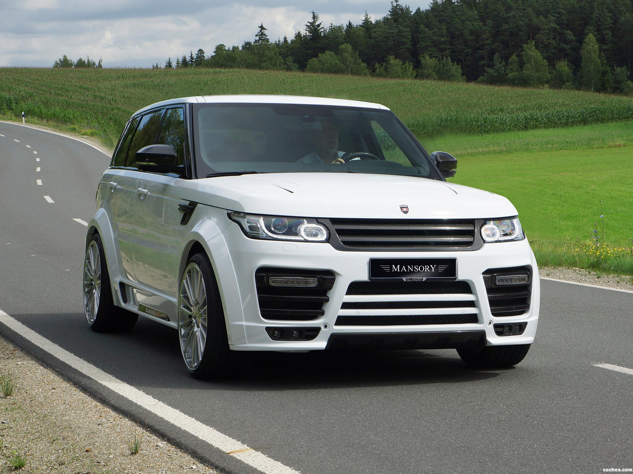 Foto 0 de Mansory Land Rover Range Rover Sport 2014