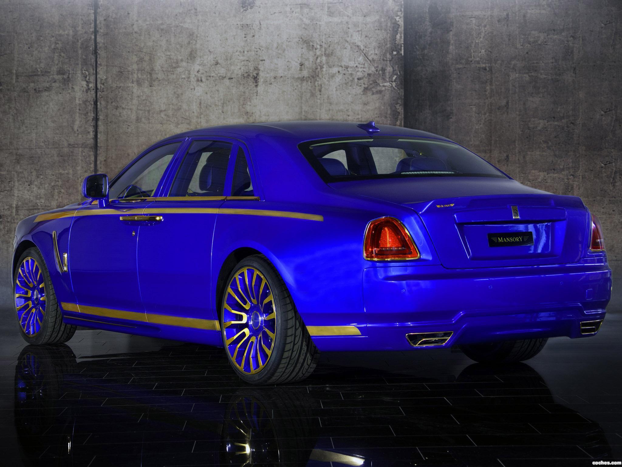 Foto 1 de Mansory Rolls Royce Ghost 2010