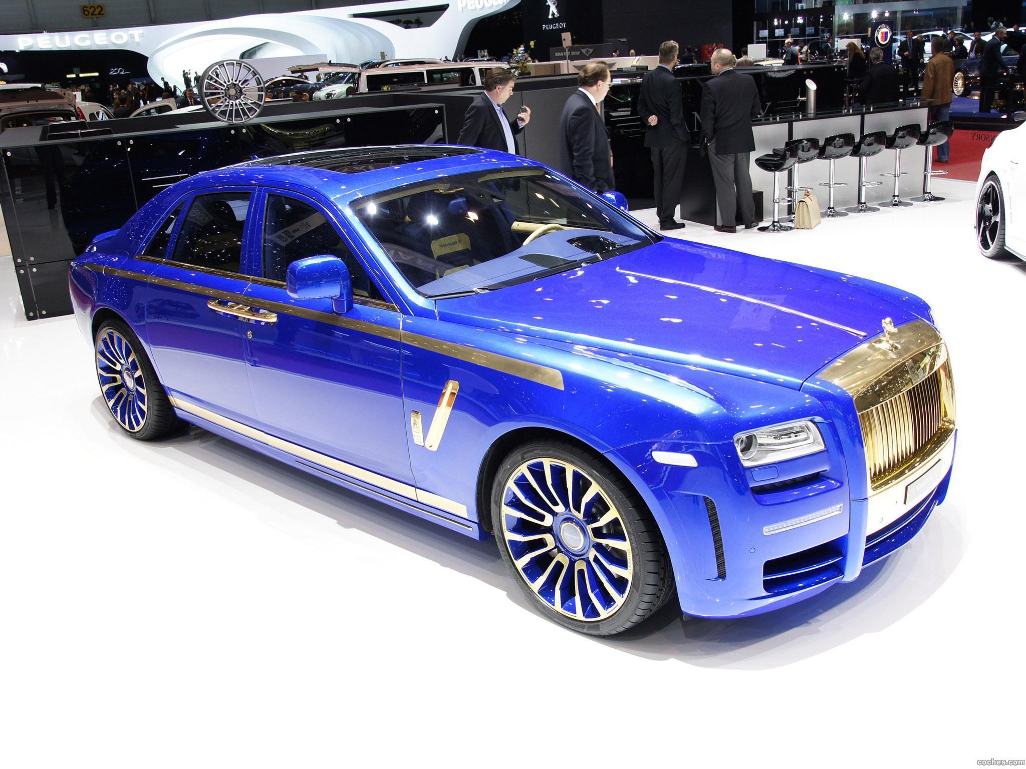 Foto 0 de Mansory Rolls Royce Ghost 2010