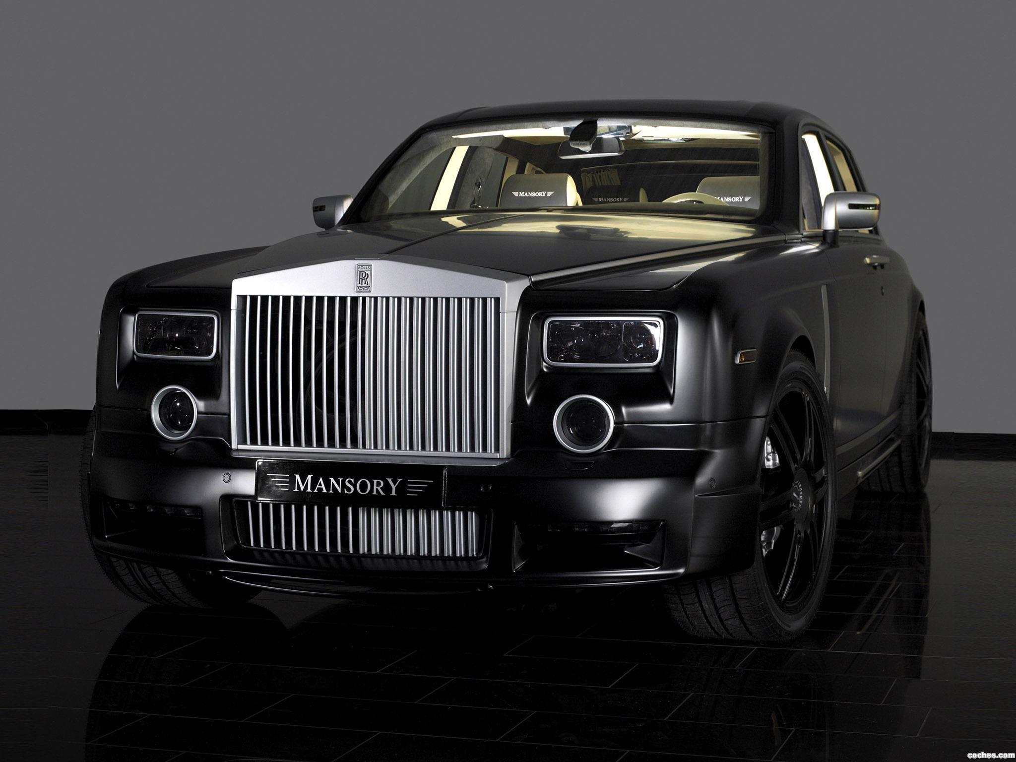 Foto 0 de Mansory Rolls Royce Phantom 2007