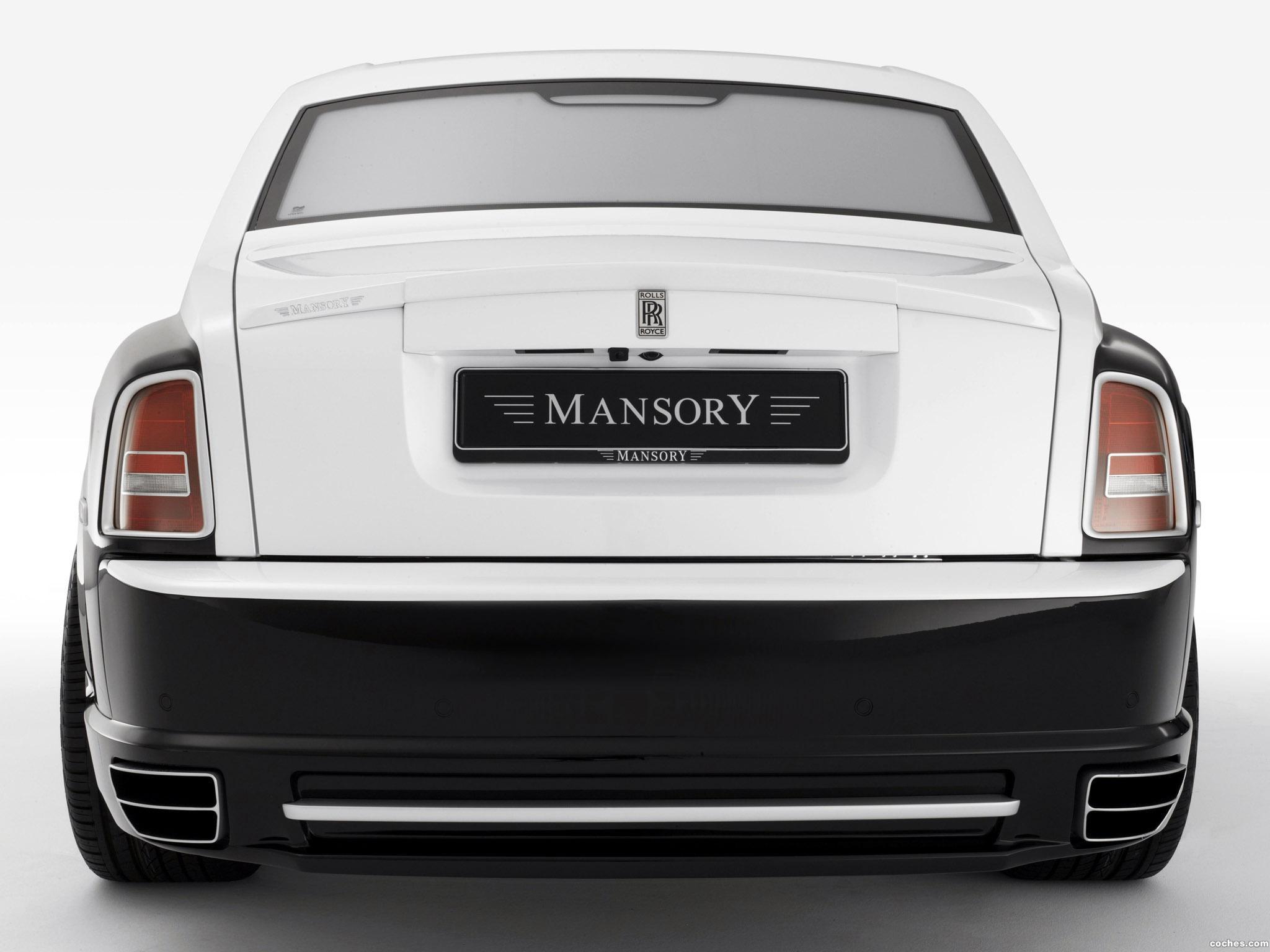 Foto 4 de Mansory Rolls Royce Phantom Conquistador 2008
