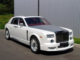 Fotos de Mansory Rolls Royce Phantom White 2011