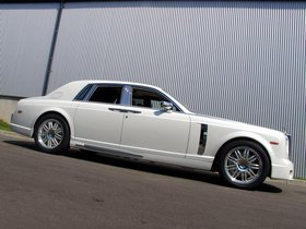 Ver foto 7 de Mansory Rolls Royce Phantom White 2011
