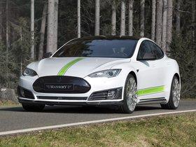 Ver foto 1 de Mansory Tesla Model S 2016