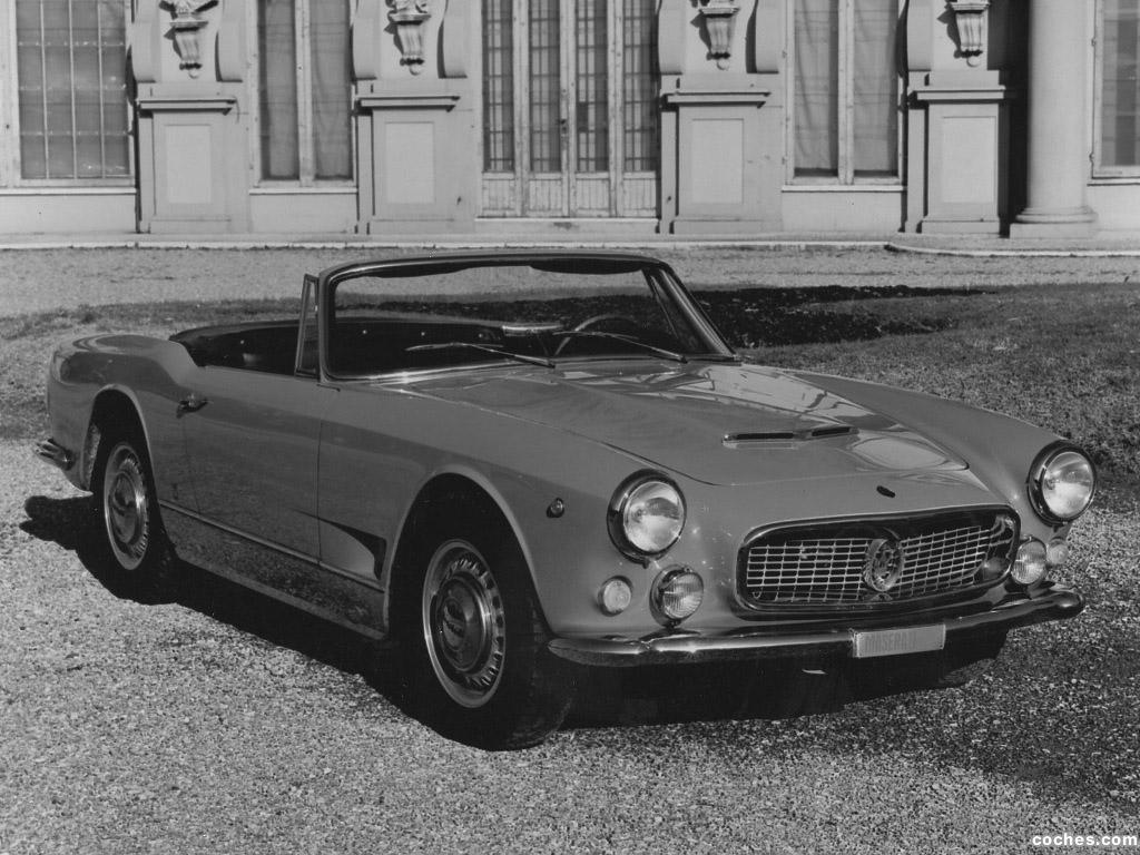 Foto 7 de Maserati 3500 Spyder by Vignale 1960-1963