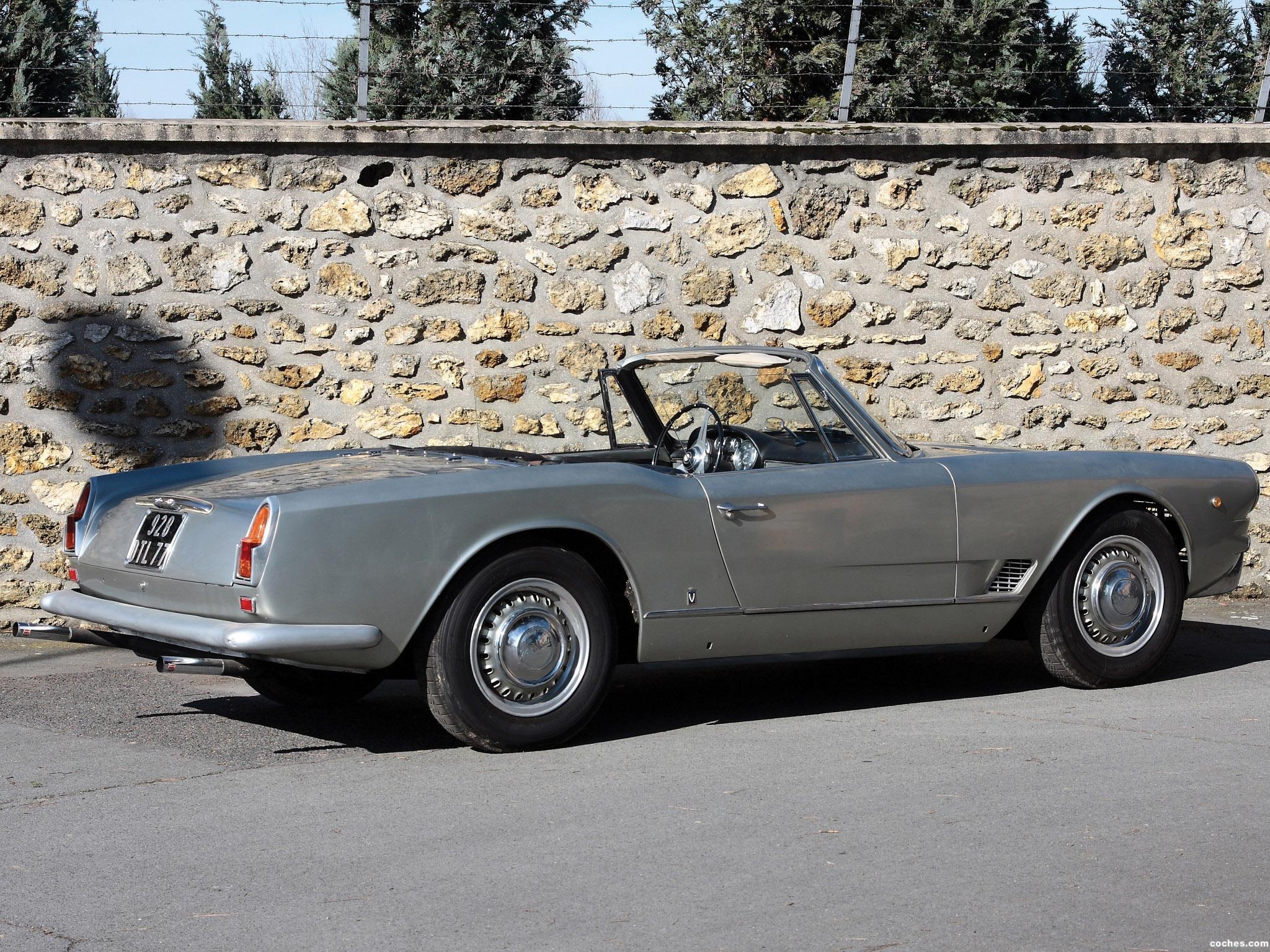 Foto 6 de Maserati 3500 Spyder by Vignale 1960-1963