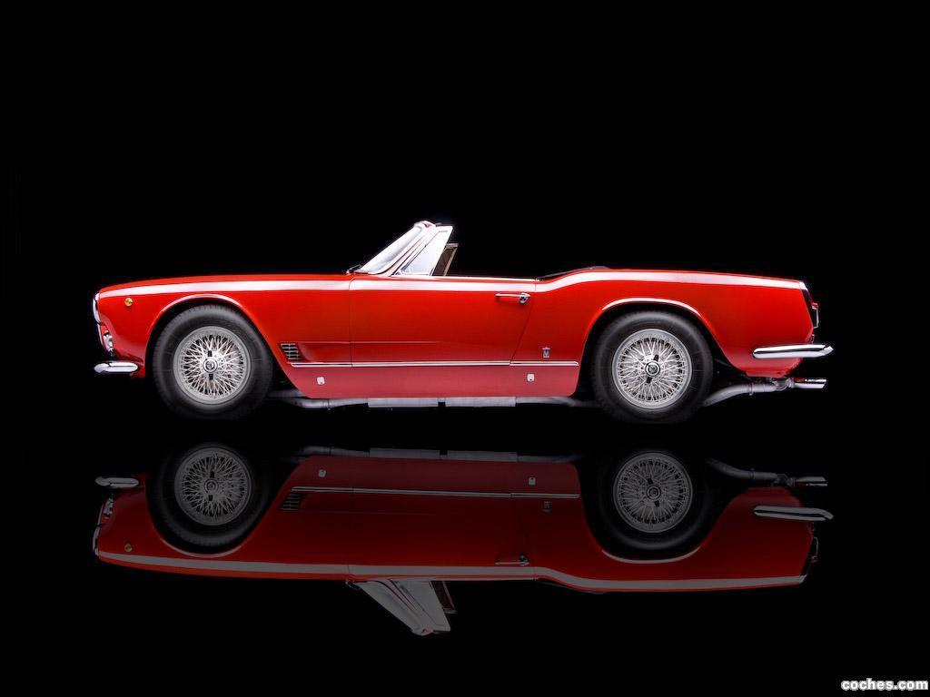 Foto 2 de Maserati 3500 Spyder by Vignale 1960-1963