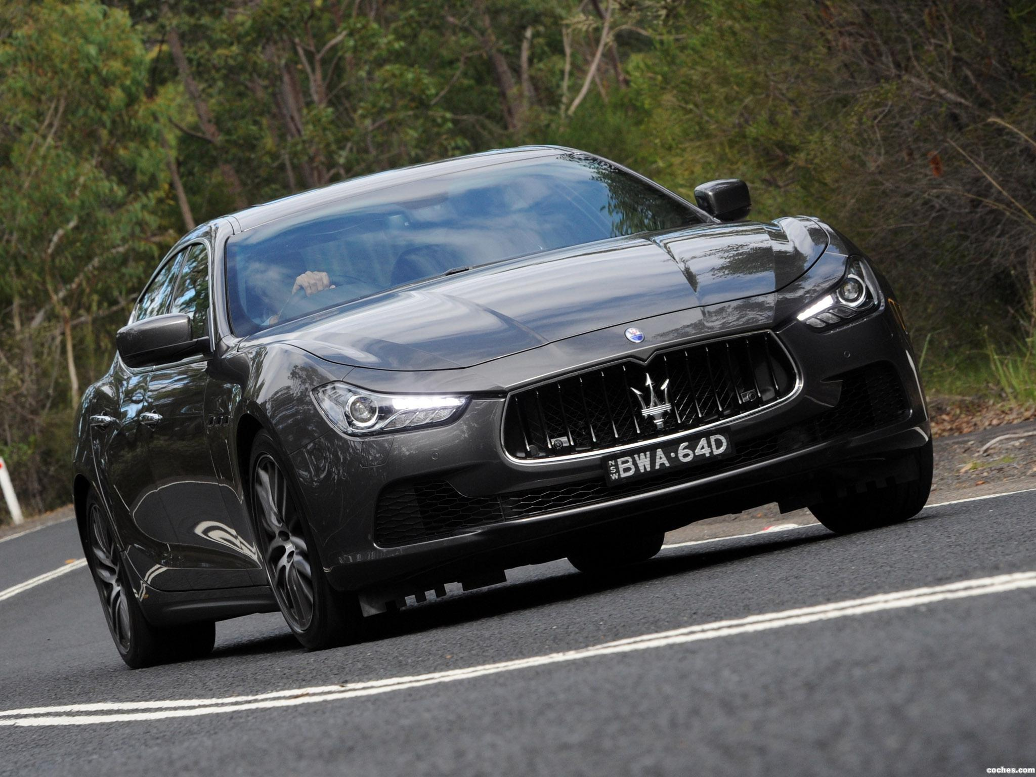 Foto 0 de Maserati Ghibli Australia 2014
