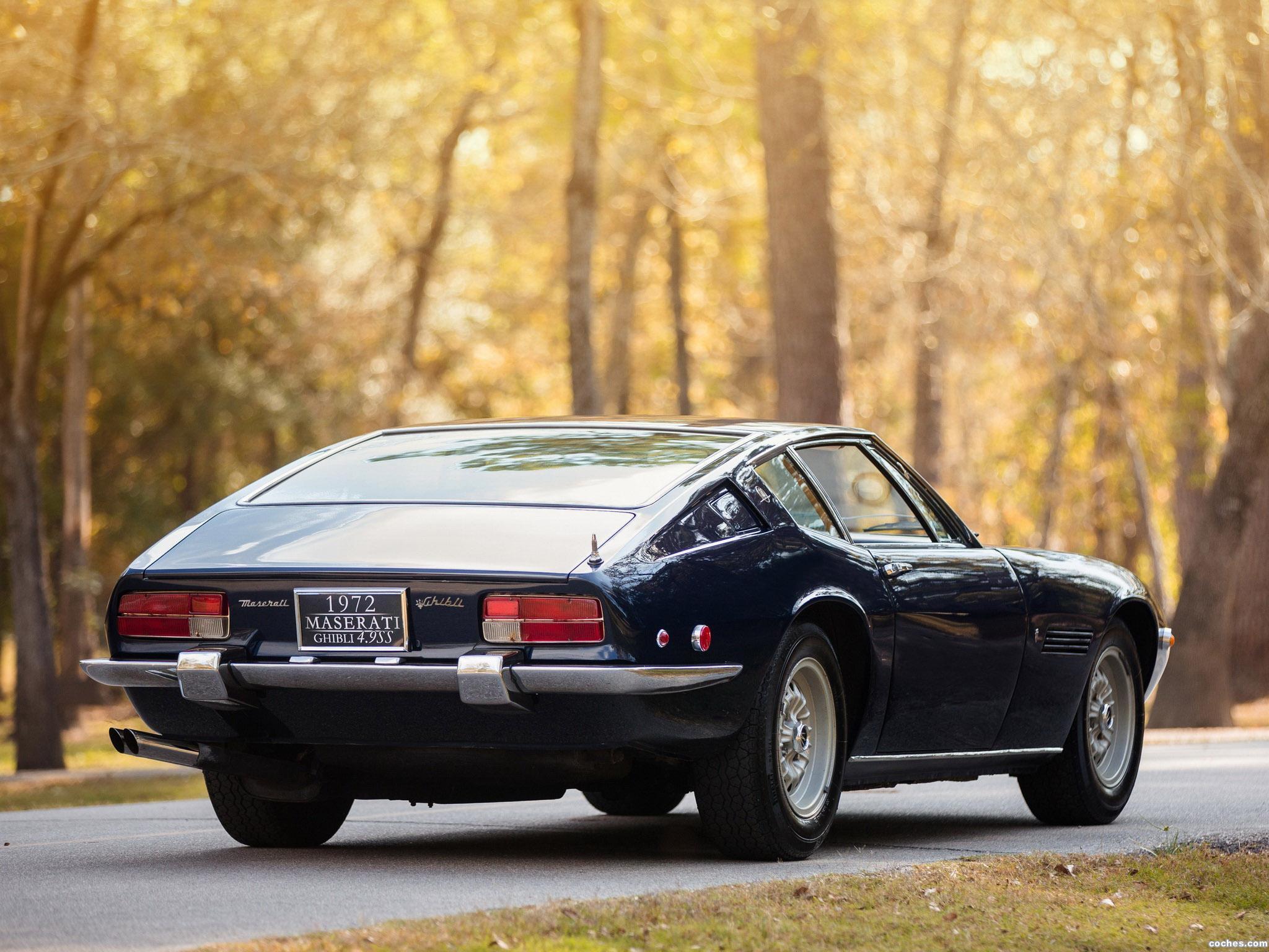 Foto 3 de Maserati Ghibli SS USA 1970