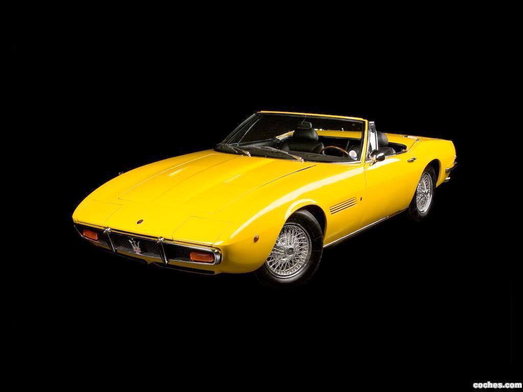 Foto 16 de Maserati Ghibli Spyder 1967