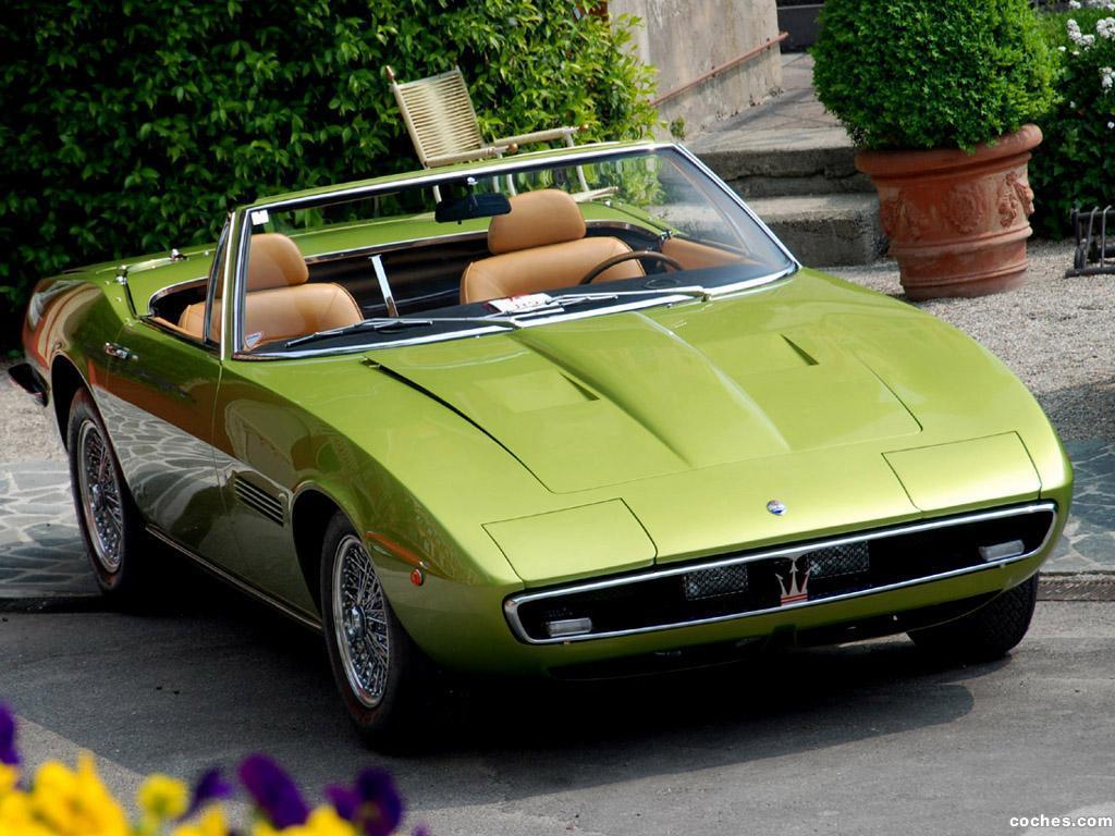 Foto 15 de Maserati Ghibli Spyder 1967