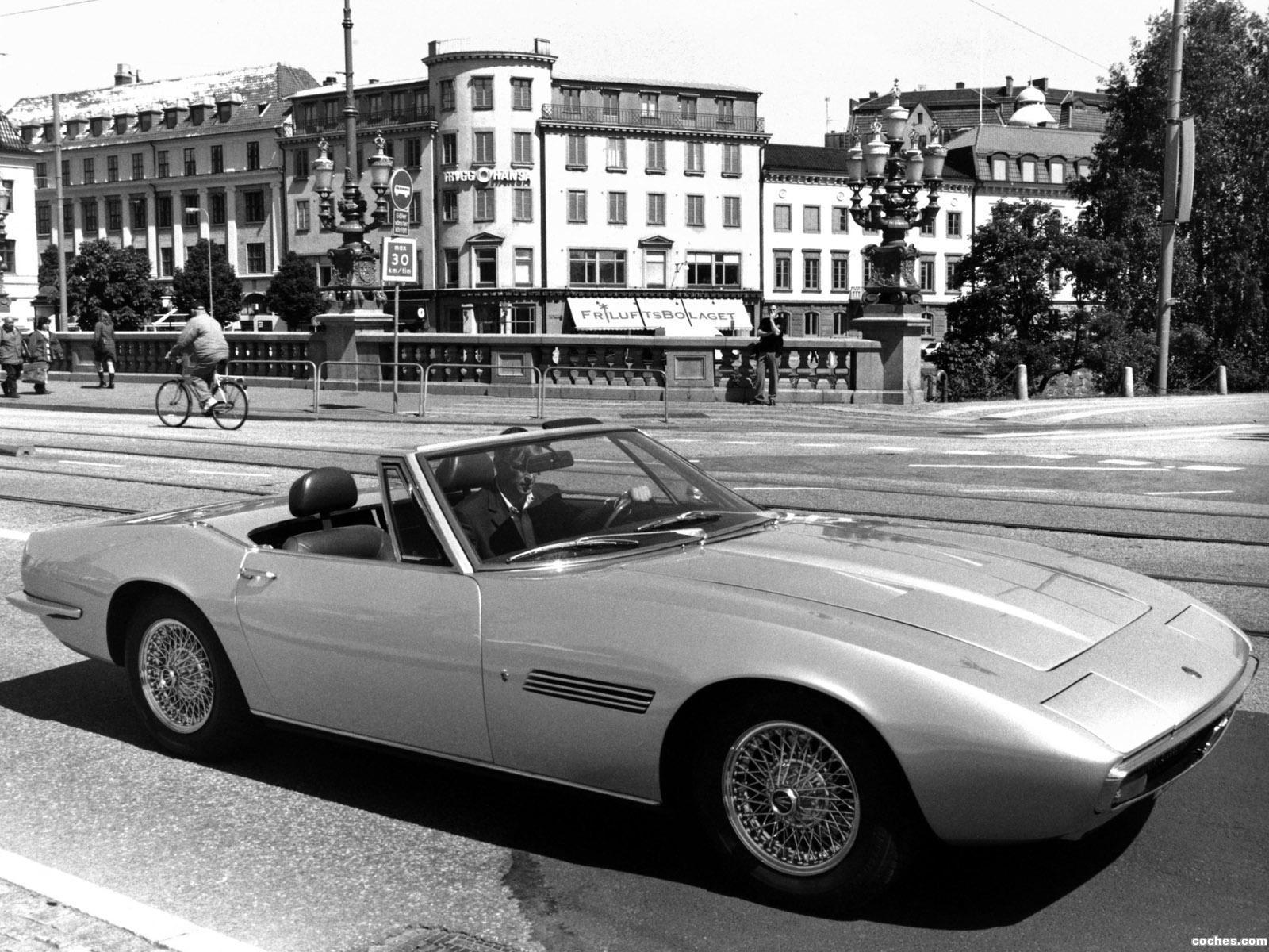 Foto 14 de Maserati Ghibli Spyder 1967