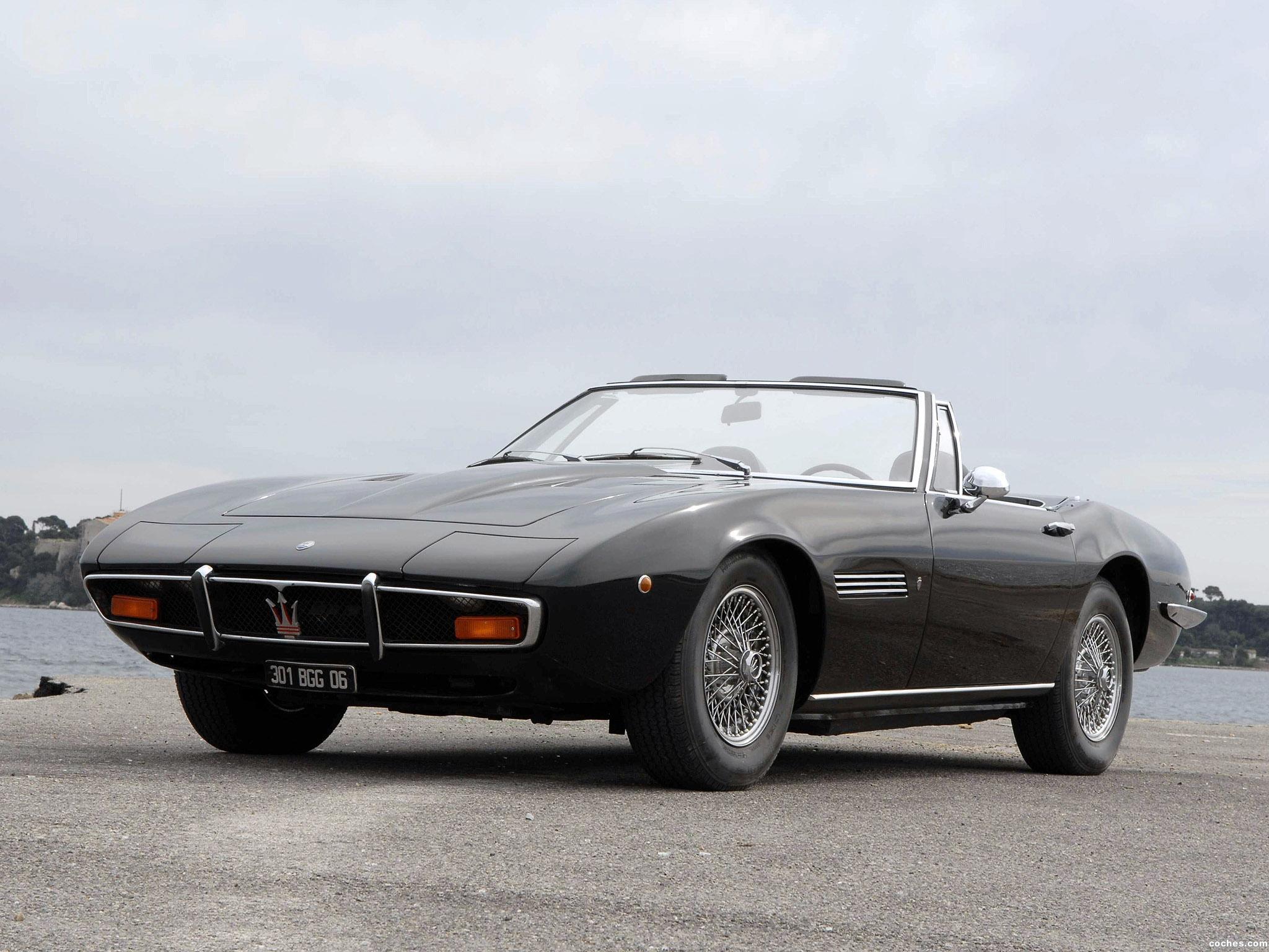 Foto 13 de Maserati Ghibli Spyder 1967