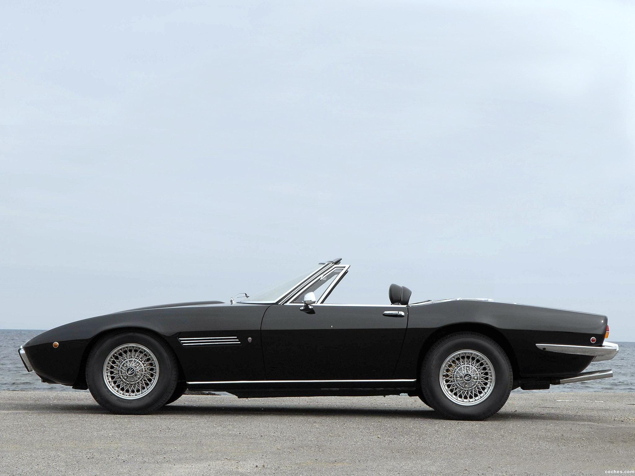 Foto 12 de Maserati Ghibli Spyder 1967