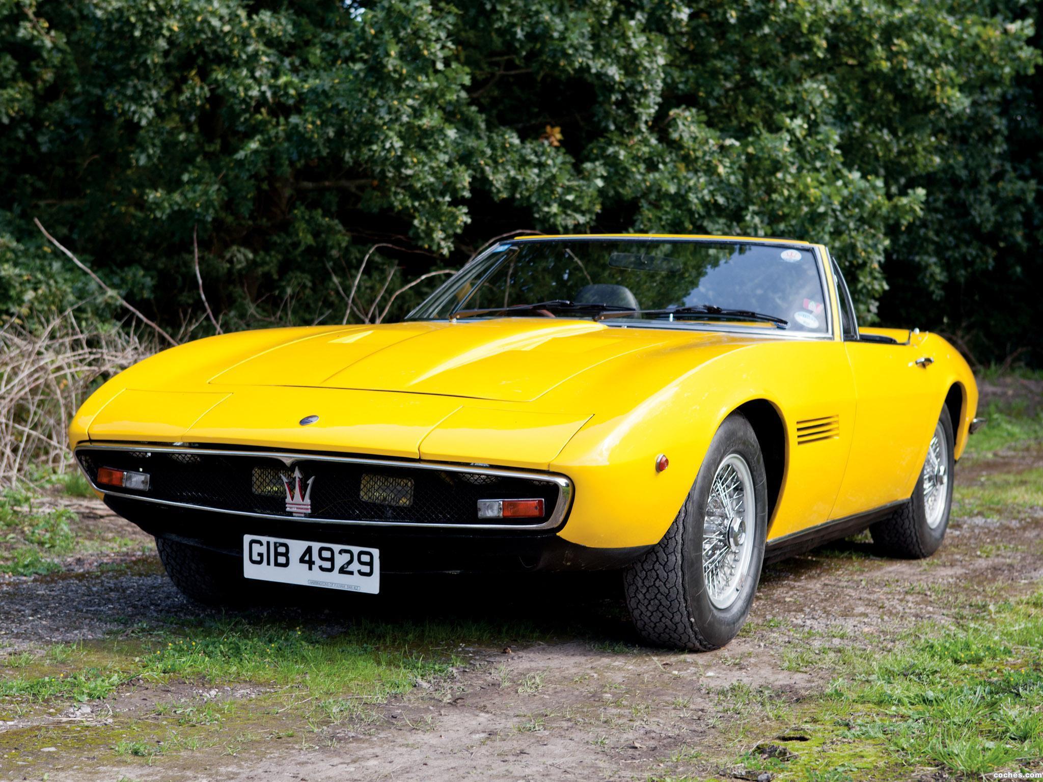 Foto 0 de Maserati Ghibli Spyder SS UK 1970