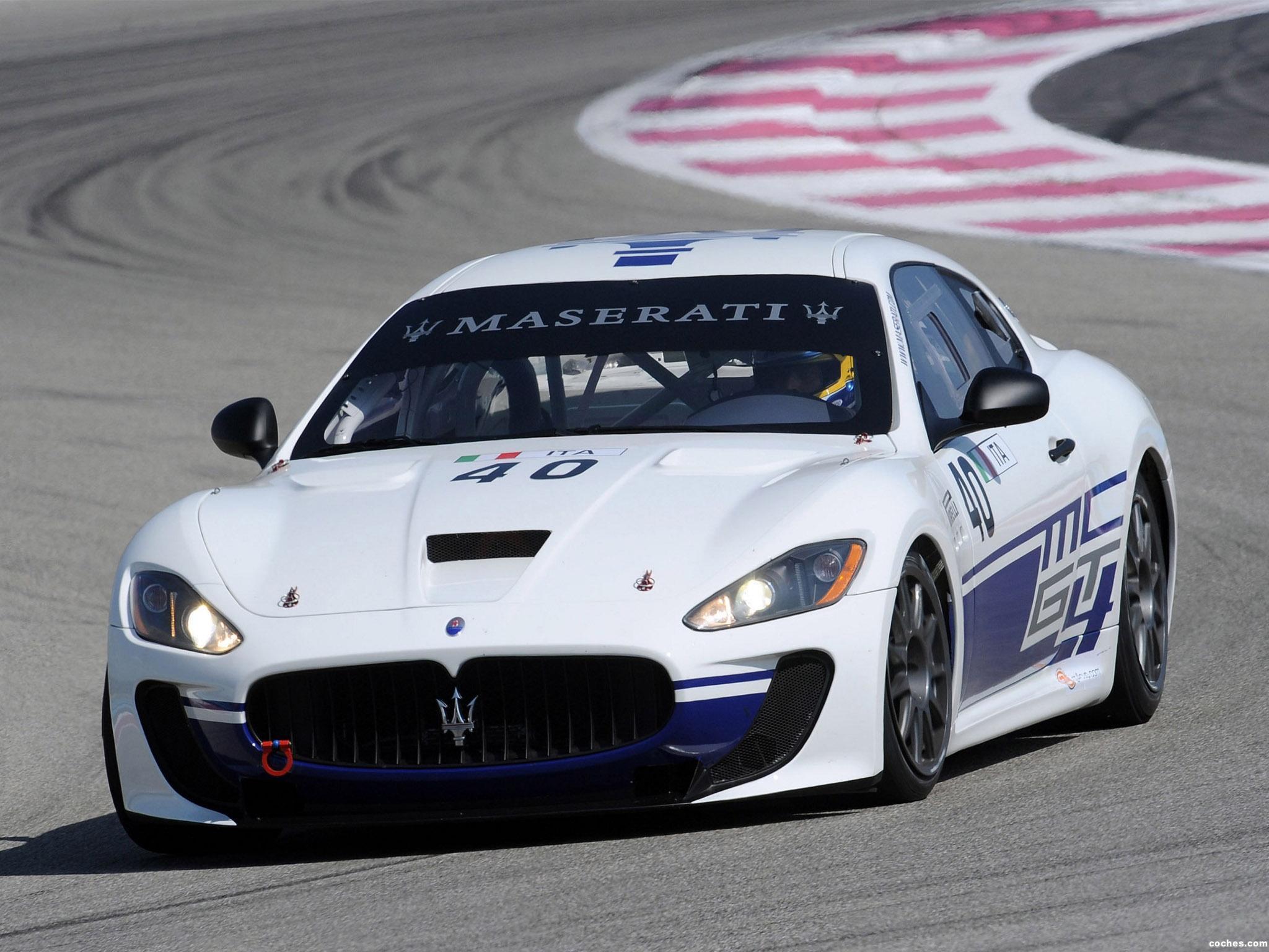 Foto 0 de Maserati Gran Turismo MC GT4 2009