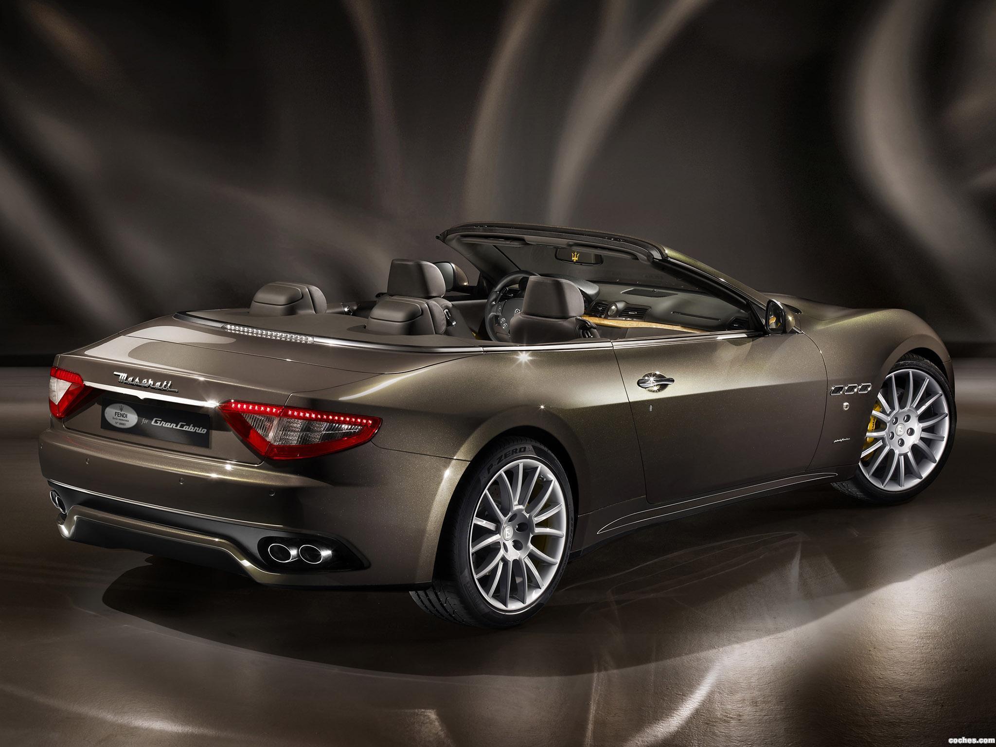 Foto 1 de Maserati GranCabrio Fendi 2011