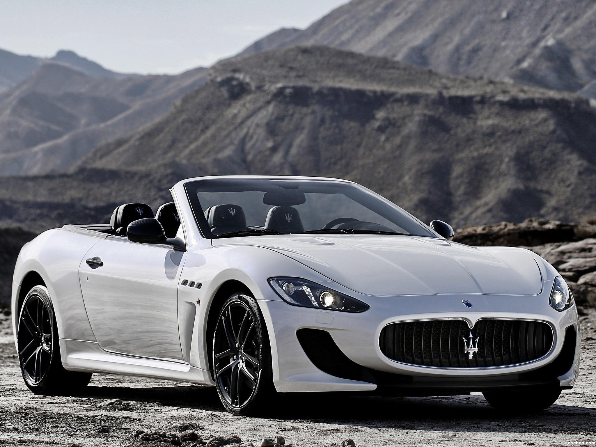 Foto 0 de Maserati GranCabrio MC Stradale 2012