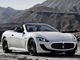 Ver foto 1 de Maserati GranCabrio MC Stradale 2012