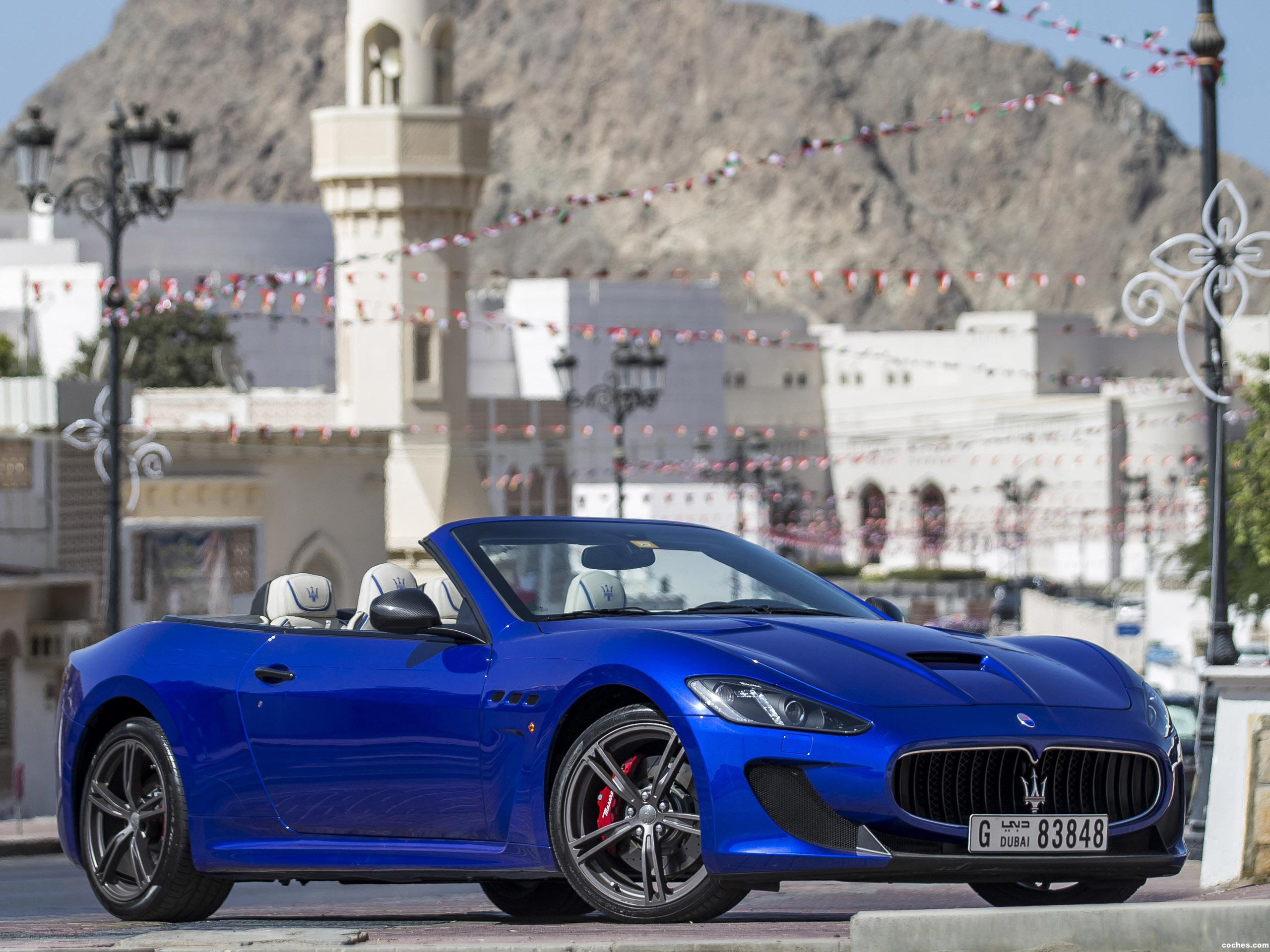 Foto 0 de Maserati GranCabrio MC Centennial Edition 2015