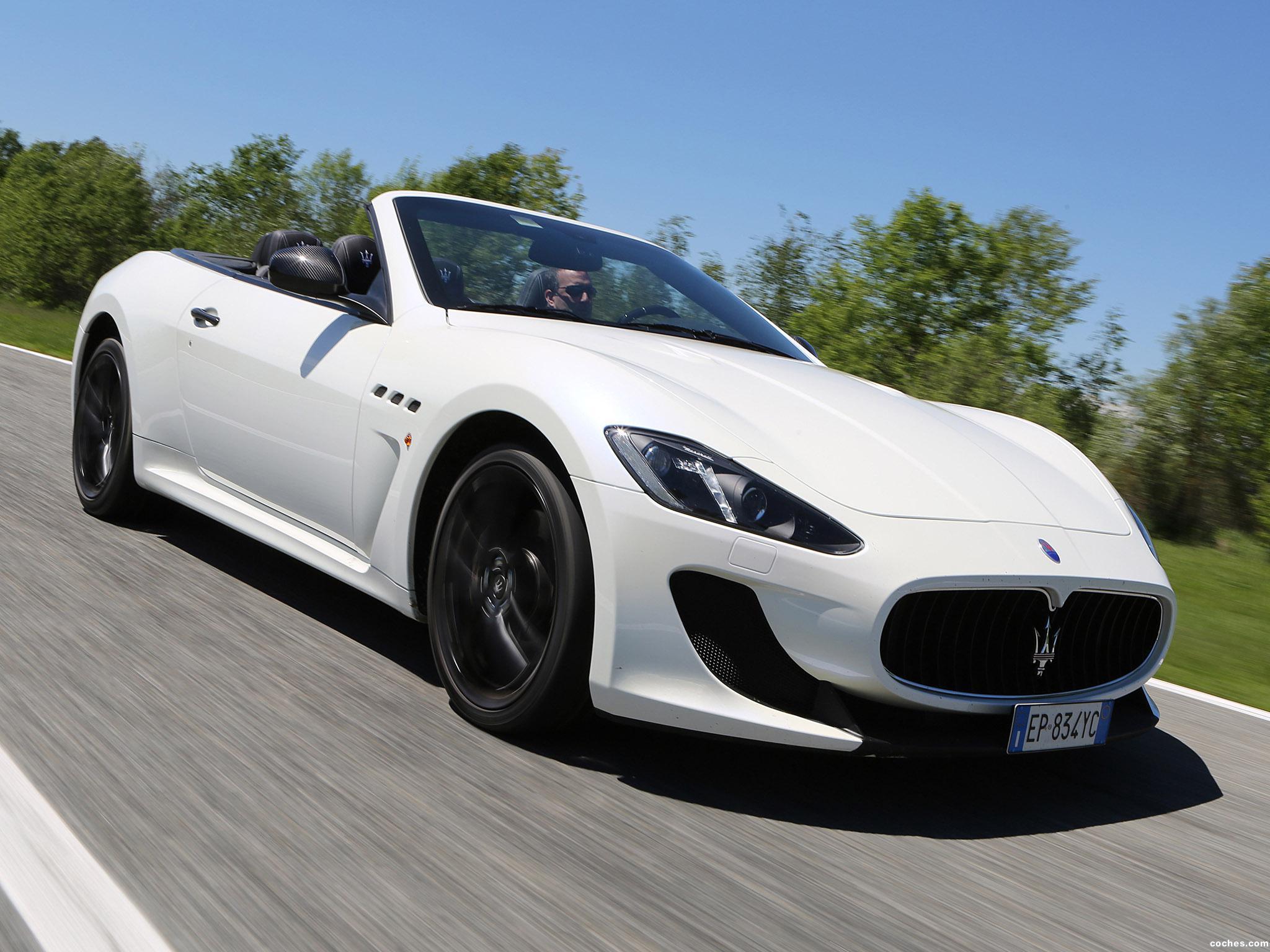Foto 0 de Maserati GranCabrio MC 2012