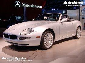 Ver foto 3 de Maserati Gransport Spyder 2002