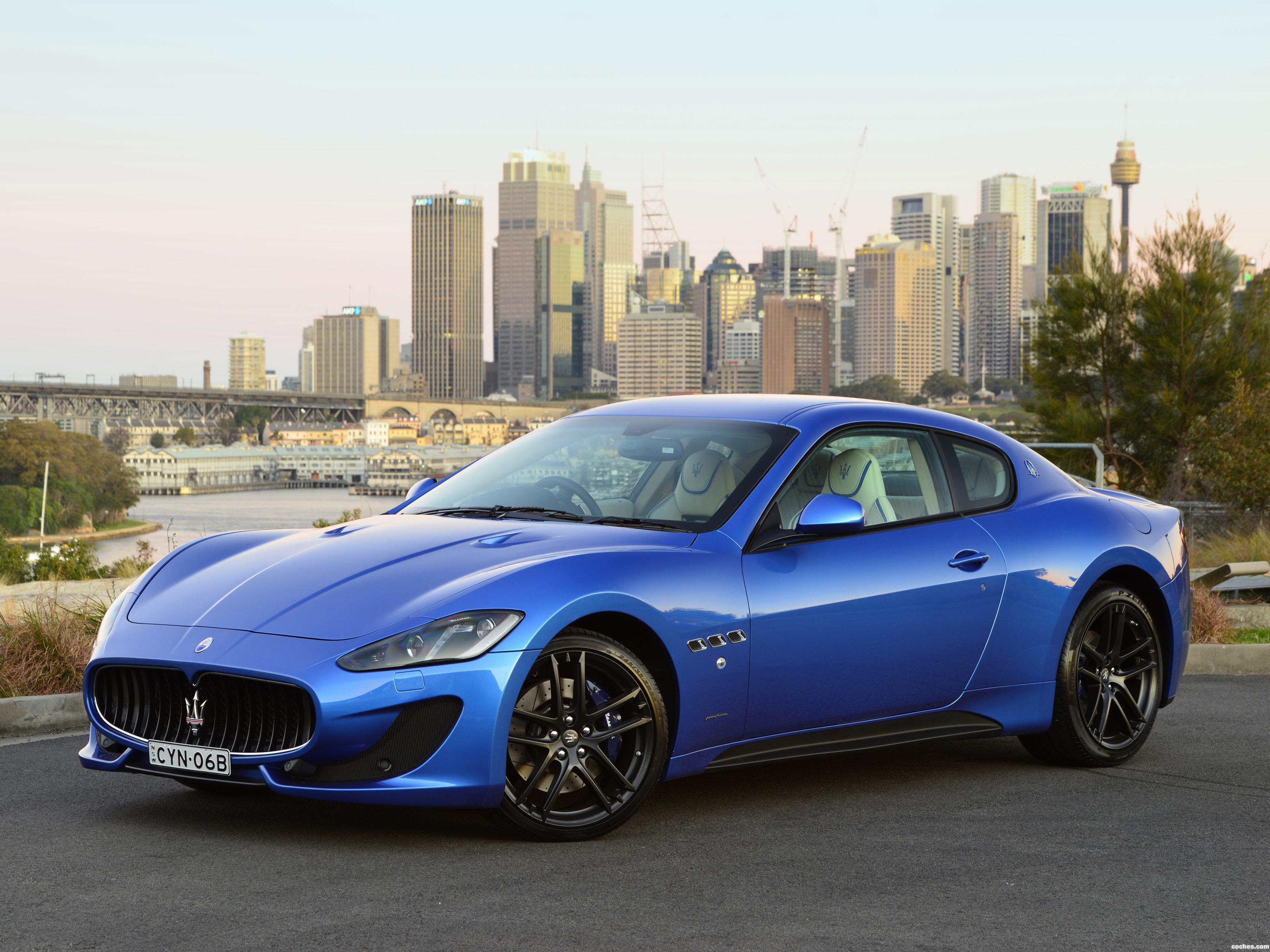 Foto 0 de Maserati Granturismo MC Sportline 2015